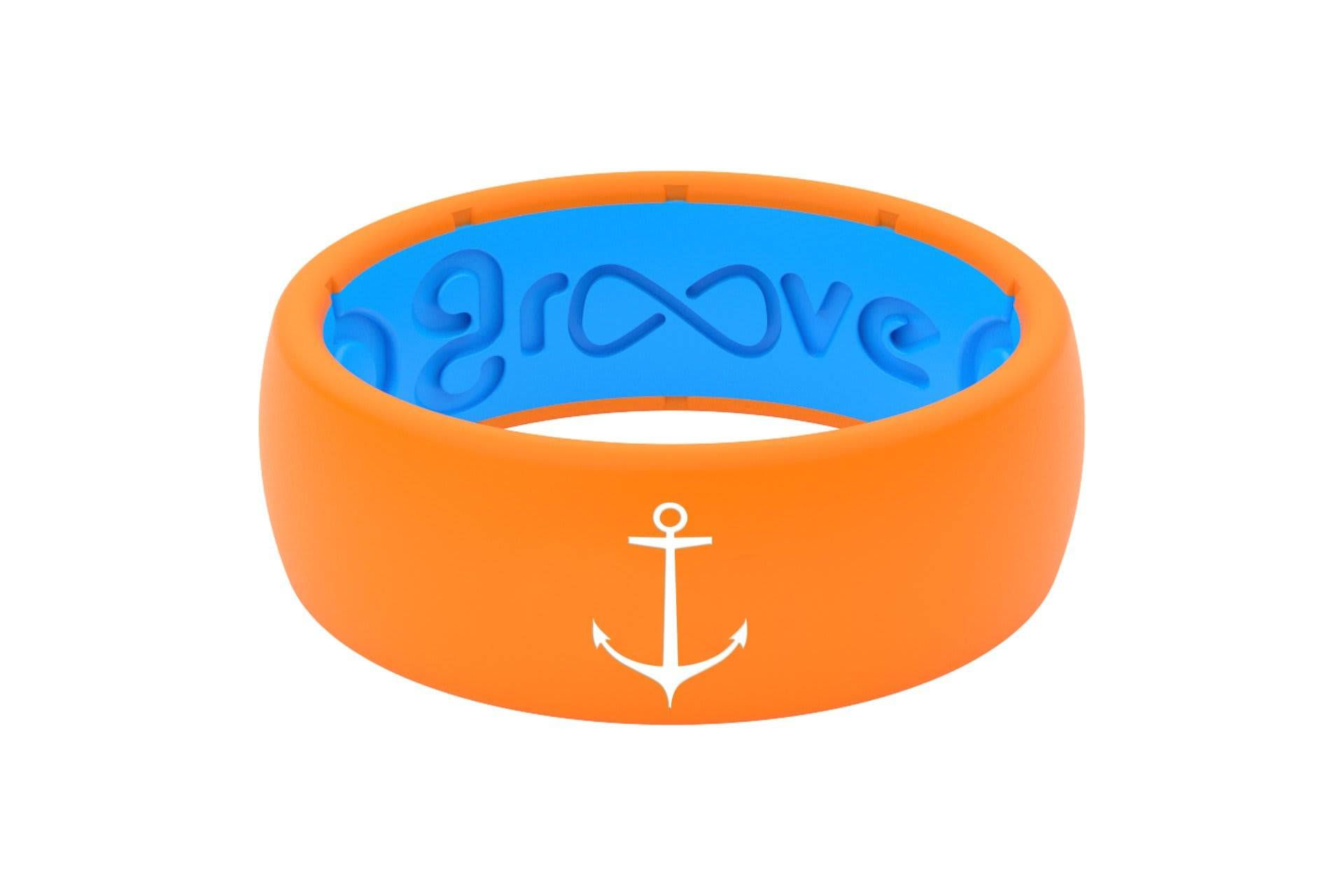 Original Custom Anchor Orange/Blue - Groove Life
