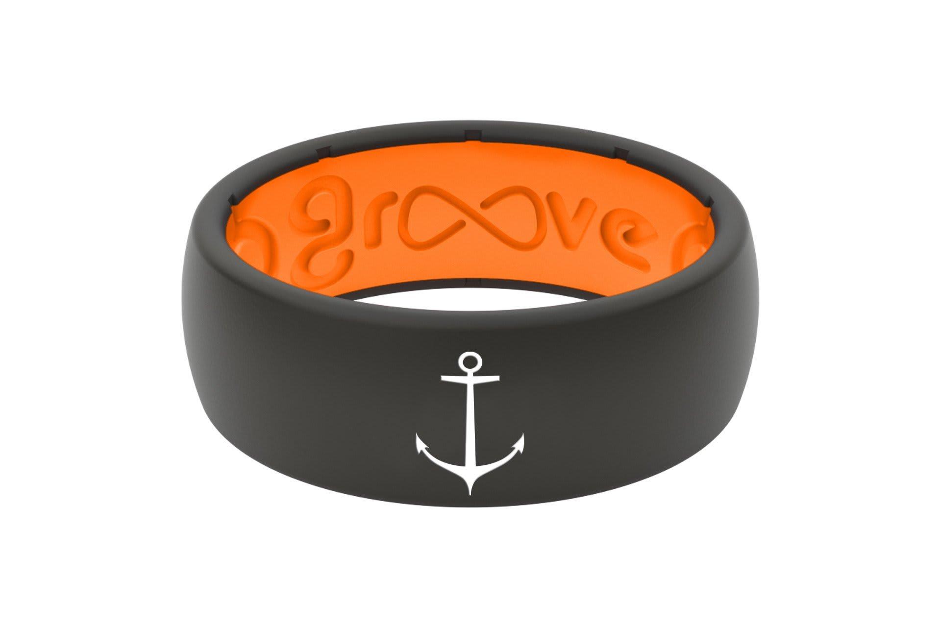 Original Custom Anchor Orange/Black - Groove Life