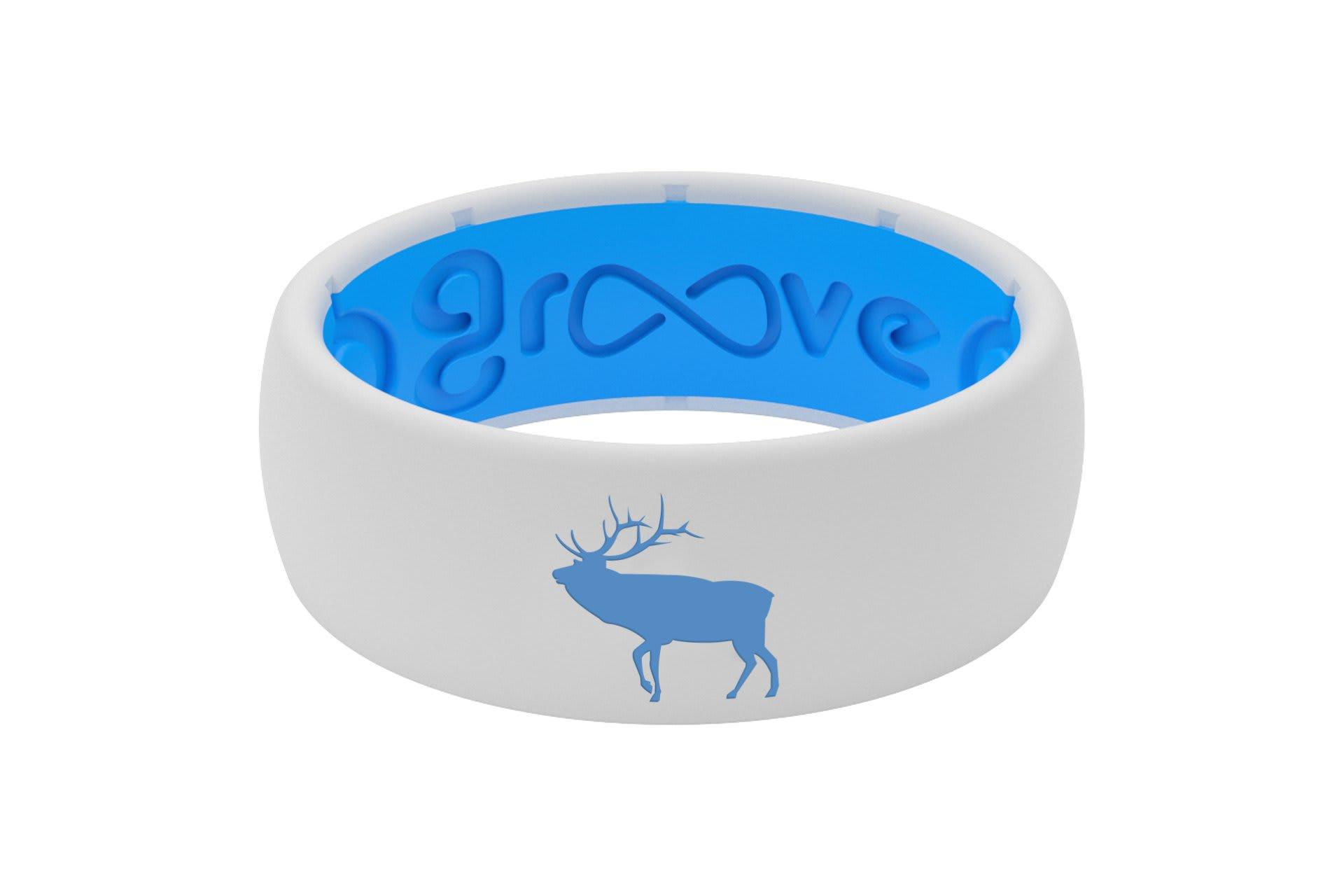 Original Custom Elk White/Blue - Groove Life