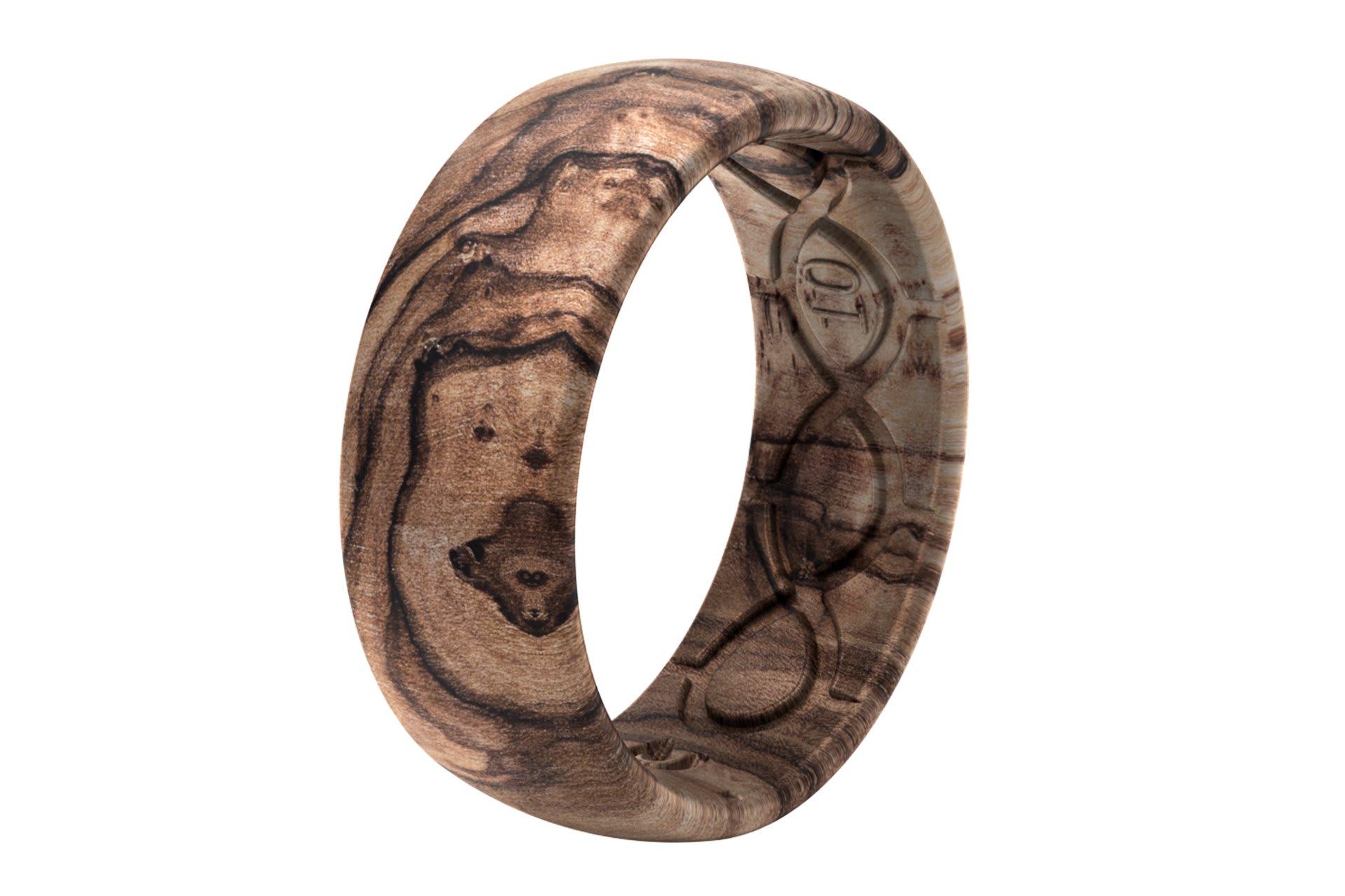 Original Nomad Burled Walnut - Groove Life Silicone Wedding Rings