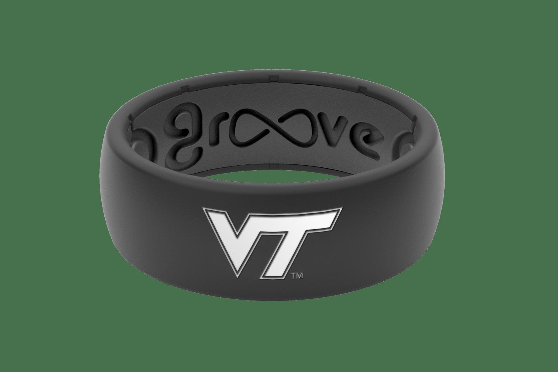 Original College Virginia Tech - Groove Life Silicone Wedding Rings