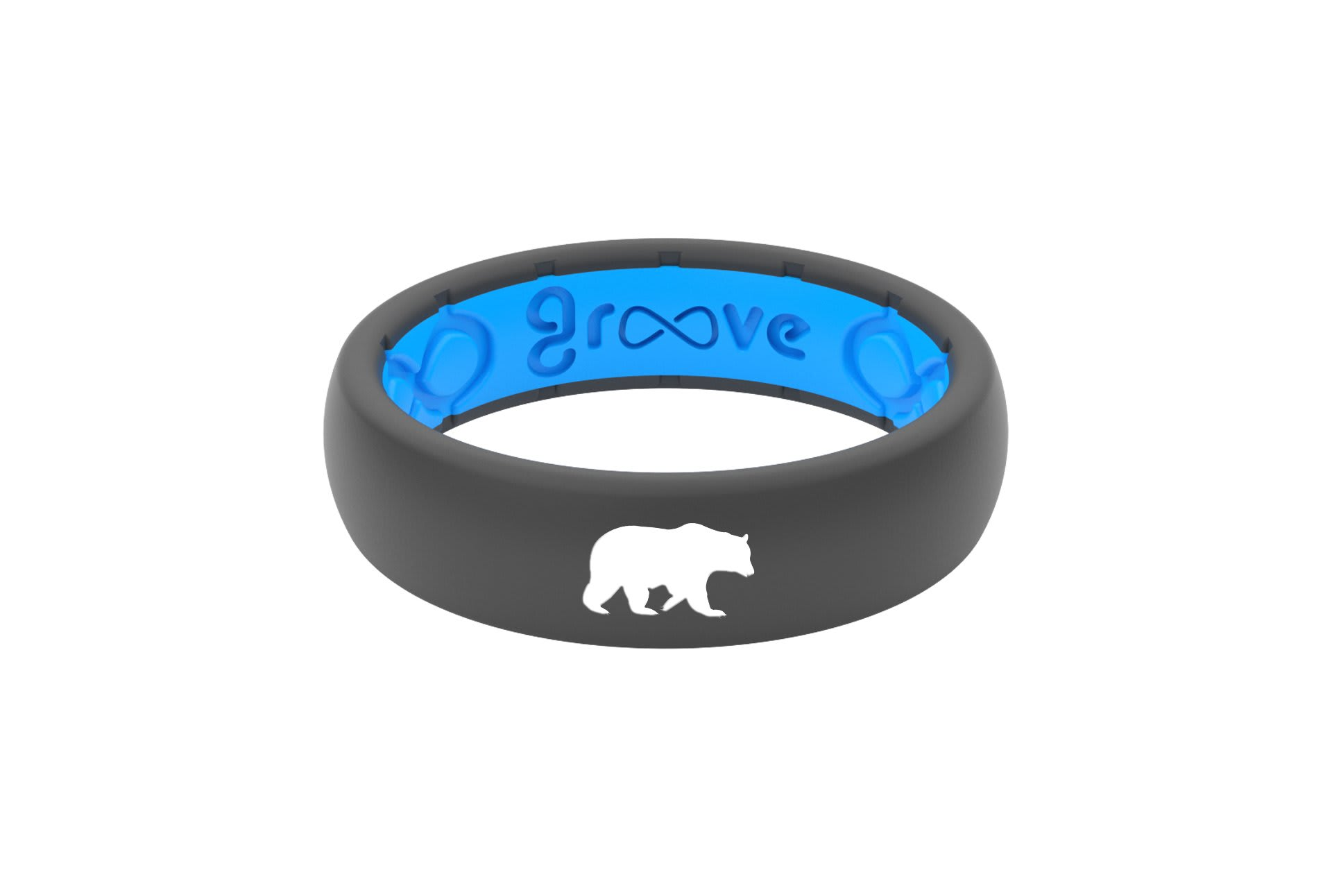 Thin Custom Bear Deep Stone Grey/Blue - Groove Life