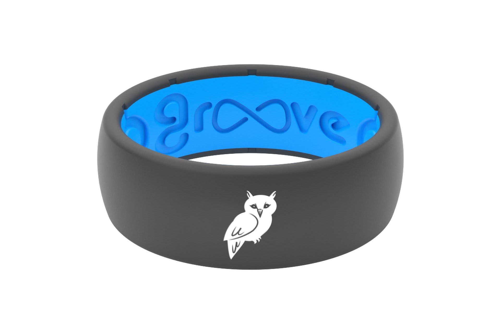 Original Custom Owl Deep Stone Grey/Blue - Groove Life