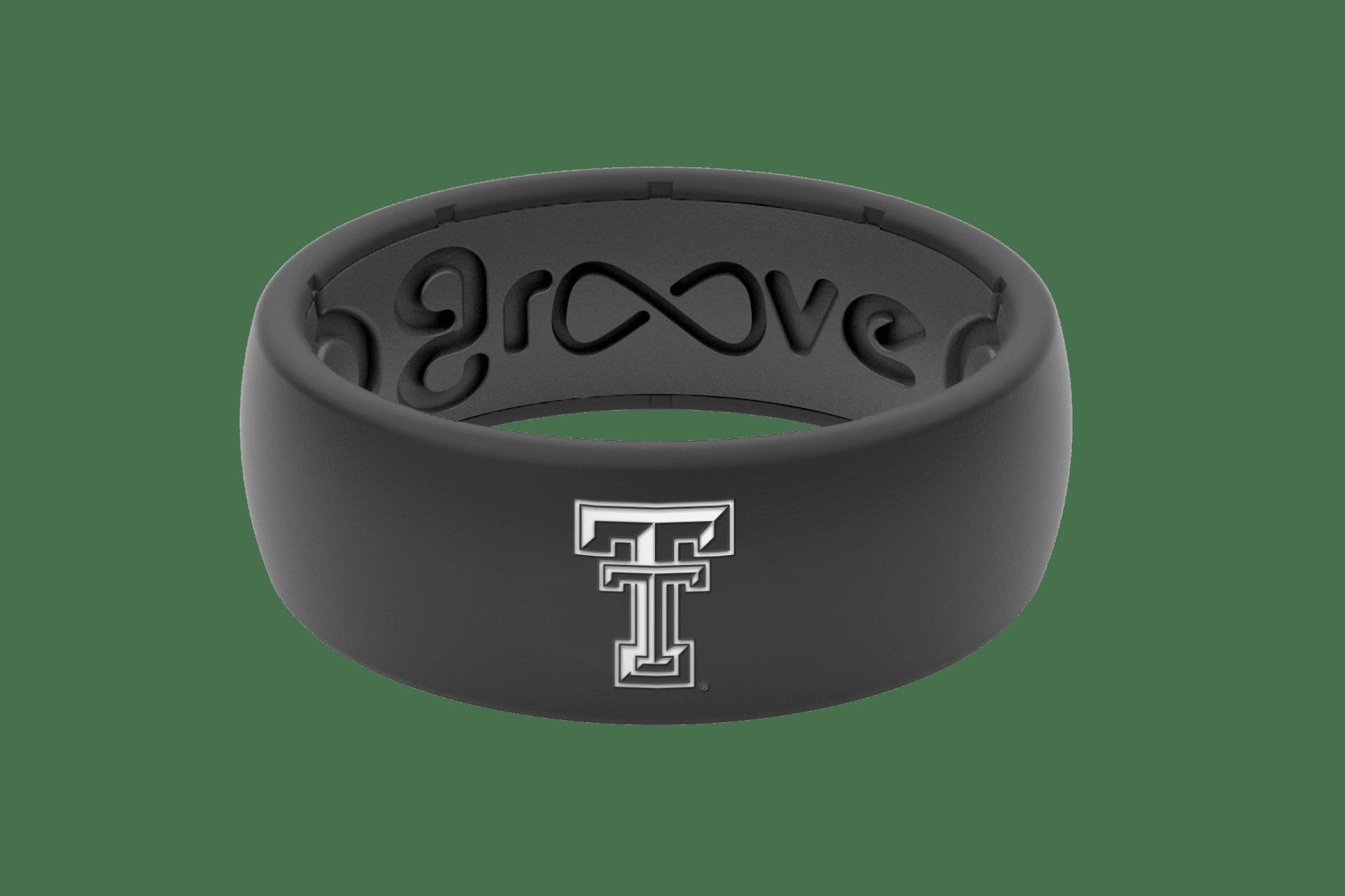 Original College Texas Tech Black - Groove Life Silicone Wedding Rings