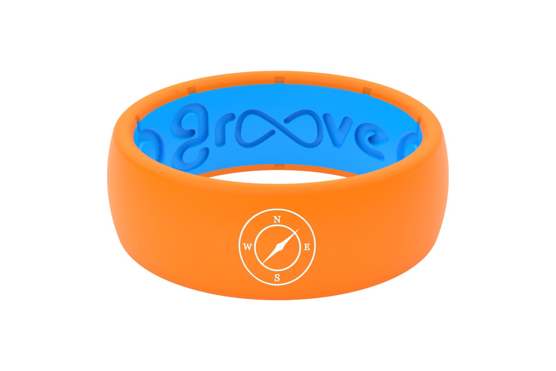 Original Custom Compass Orange/Blue - Groove Life