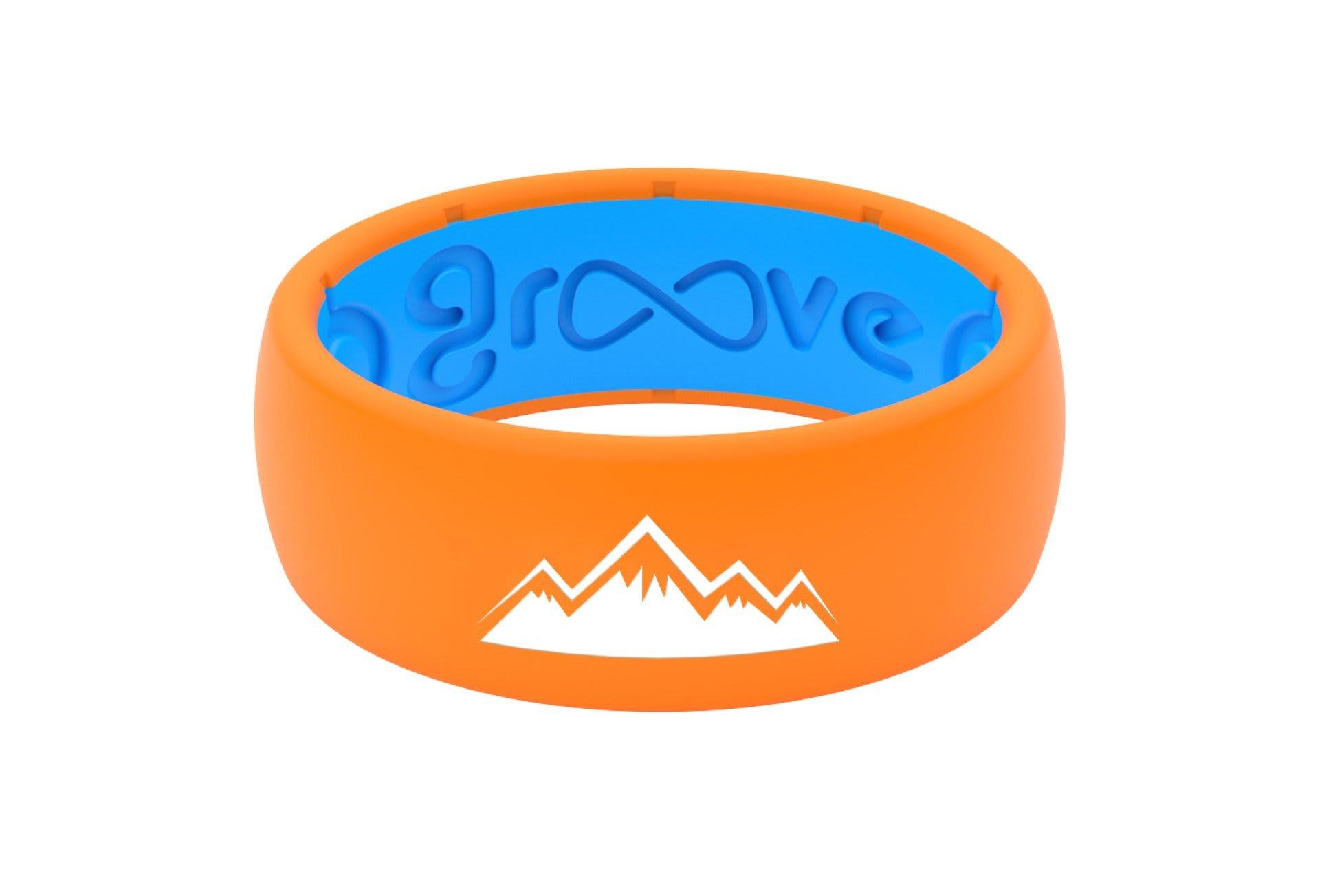 Original Custom Mountains Orange/Blue - Groove Life