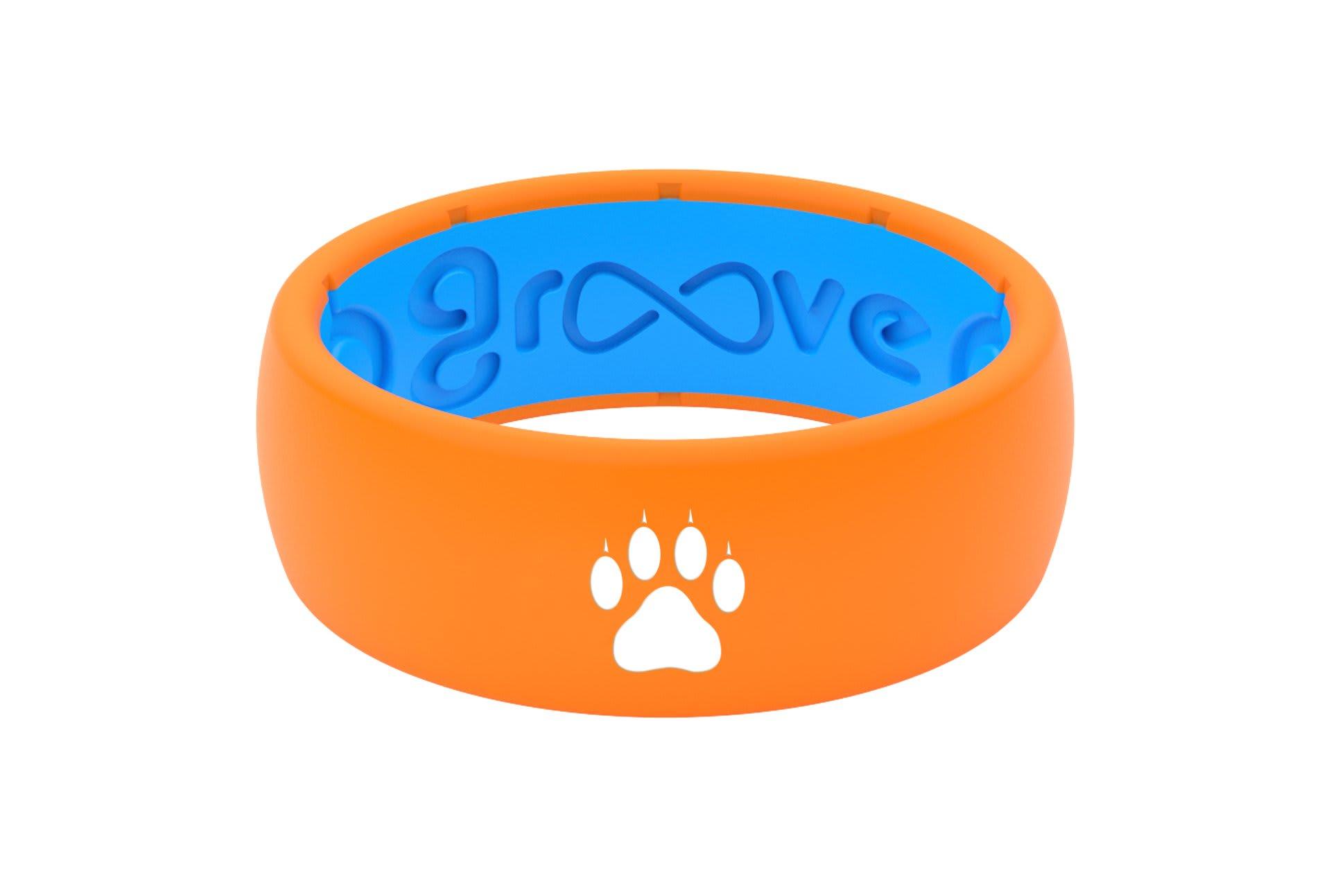 Original Custom Cat Paw Orange/Blue  - Groove Life