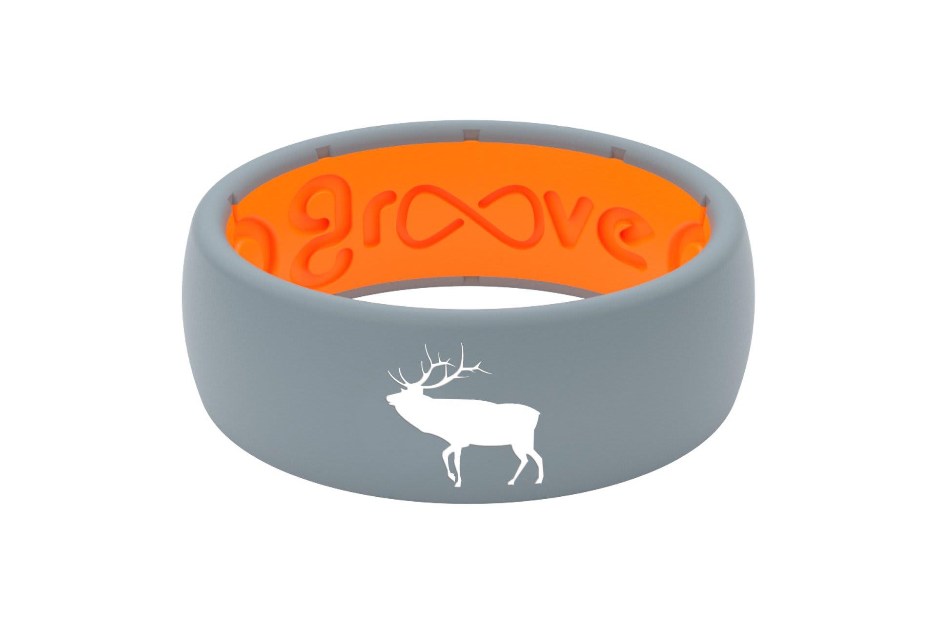 Original Custom Elk Storm Grey/Orange - Groove Life
