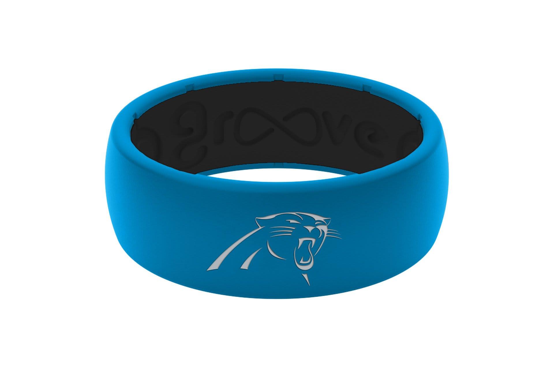 Original NFL Carolina Panthers - Groove Life Silicone Wedding Rings