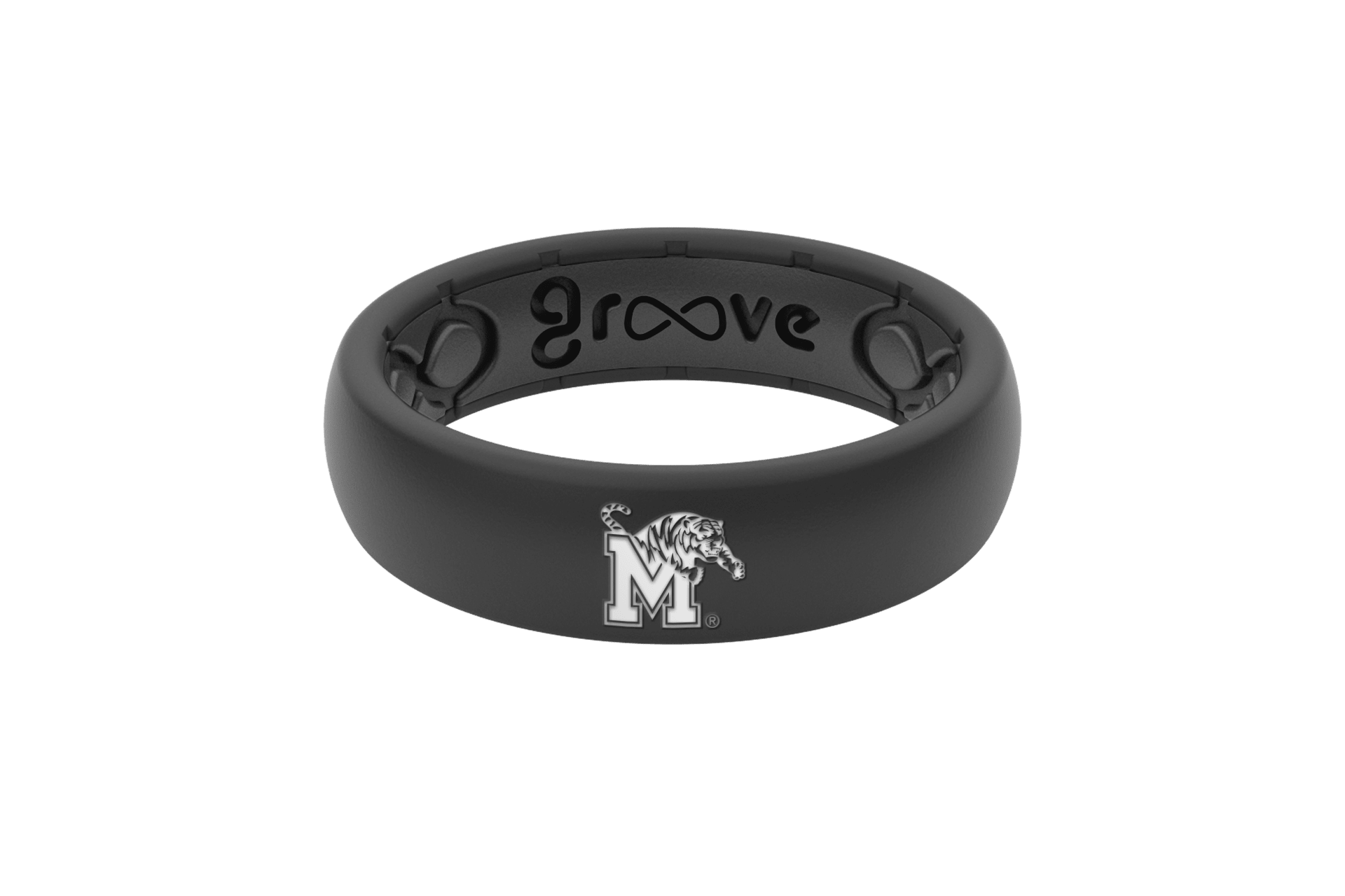 Thin College Memphis - Groove Life Silicone Wedding Rings