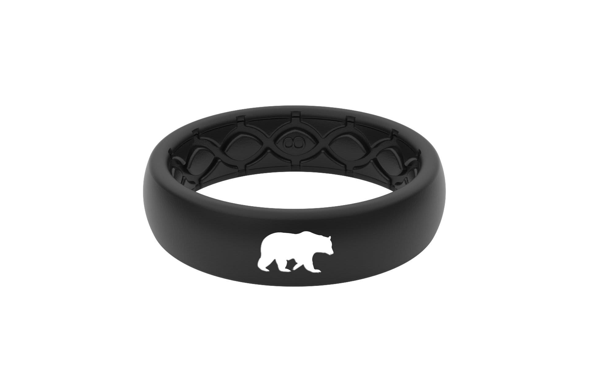 Thin Custom Bear Black/Black - Groove Life