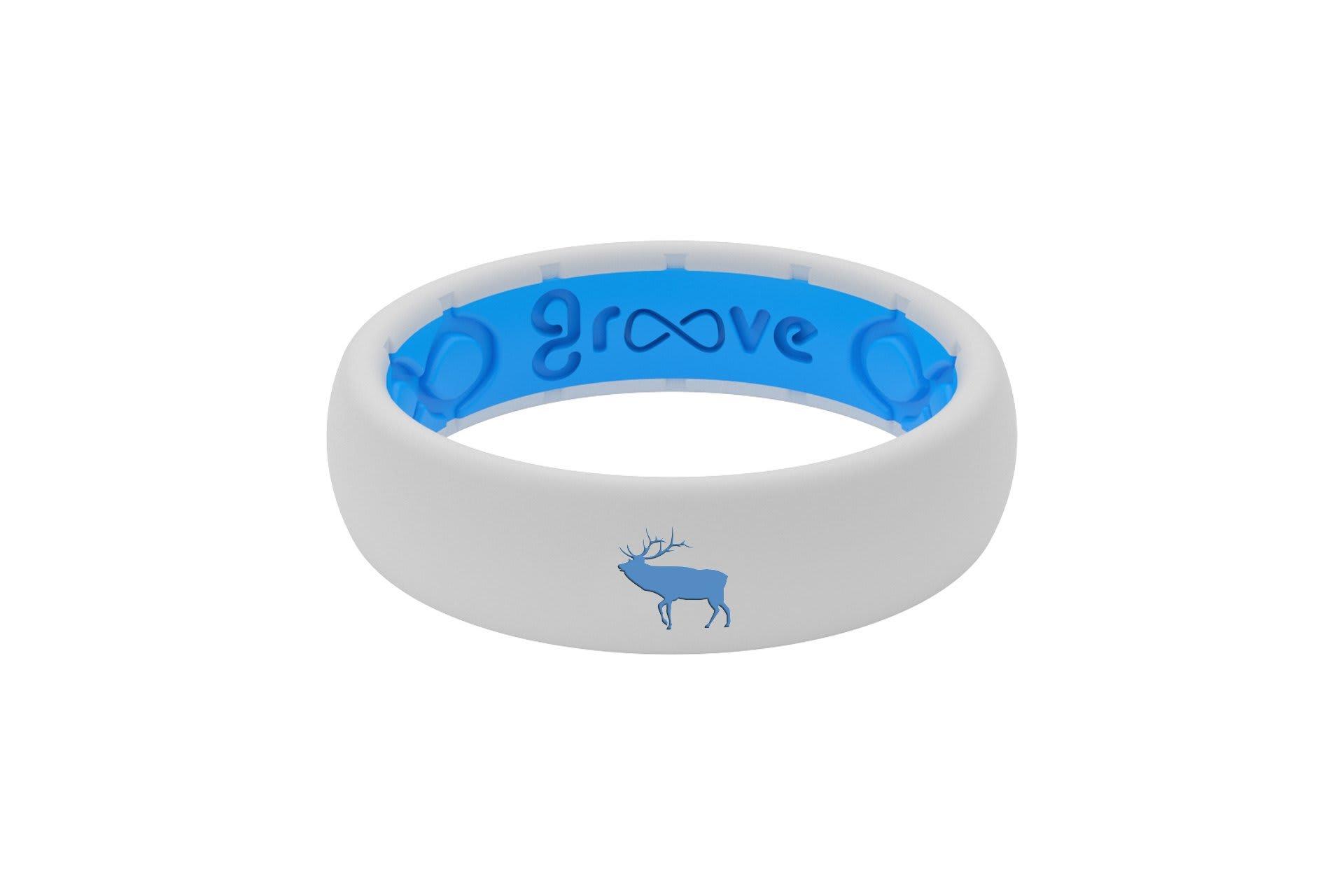 Thin Custom Elk White/Blue - Groove Life
