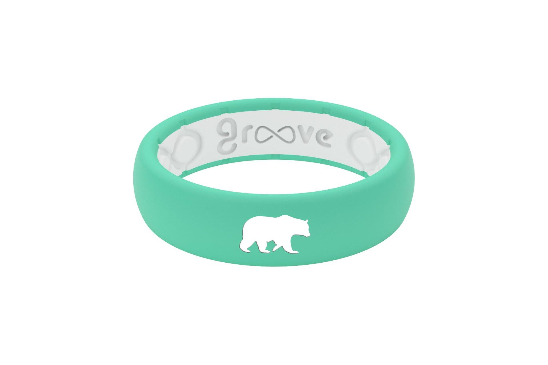 Thin Custom Bear Seafoam/White - Groove Life
