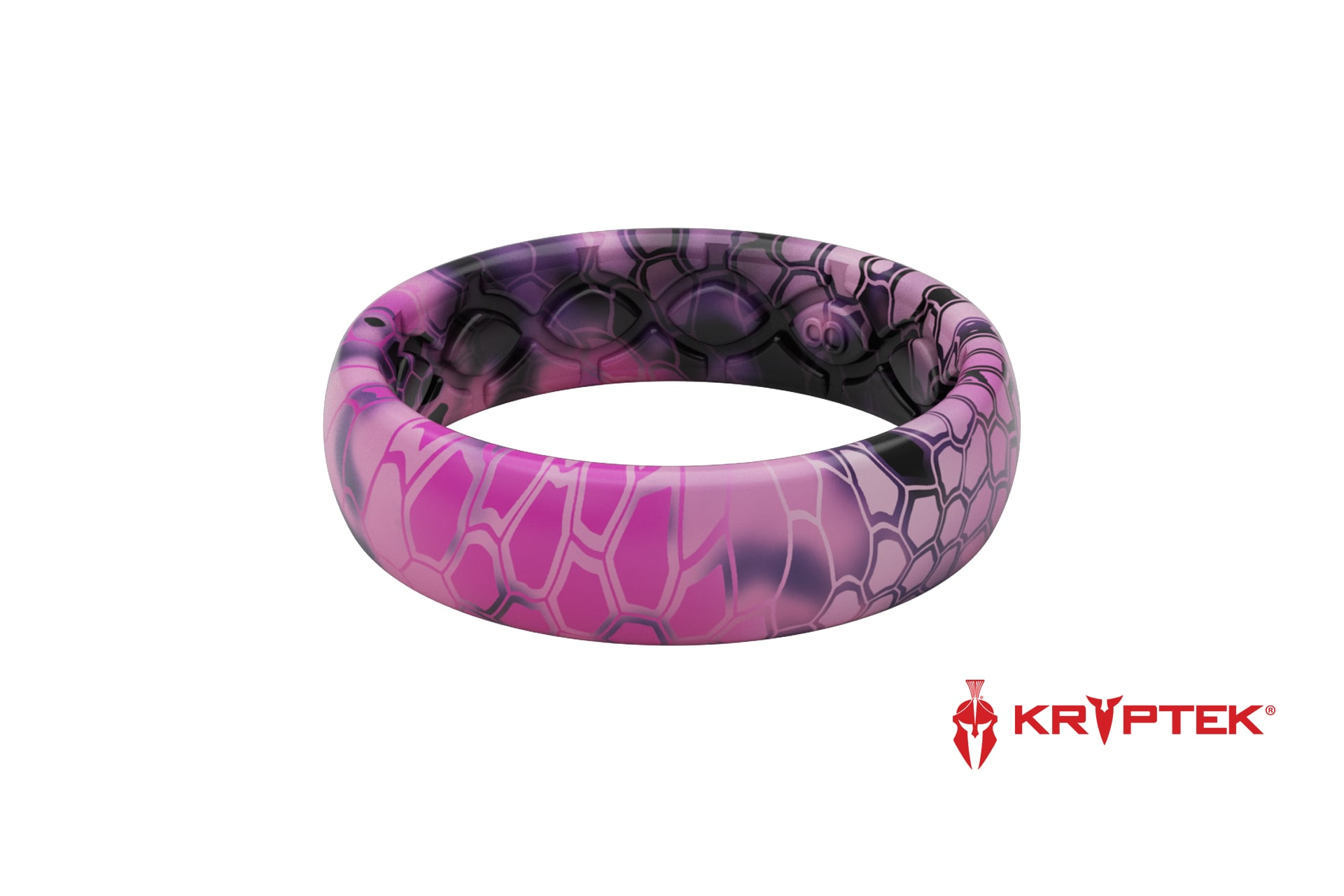 Thin Camo Kryptek Siren - Groove Life Silicone Wedding Rings