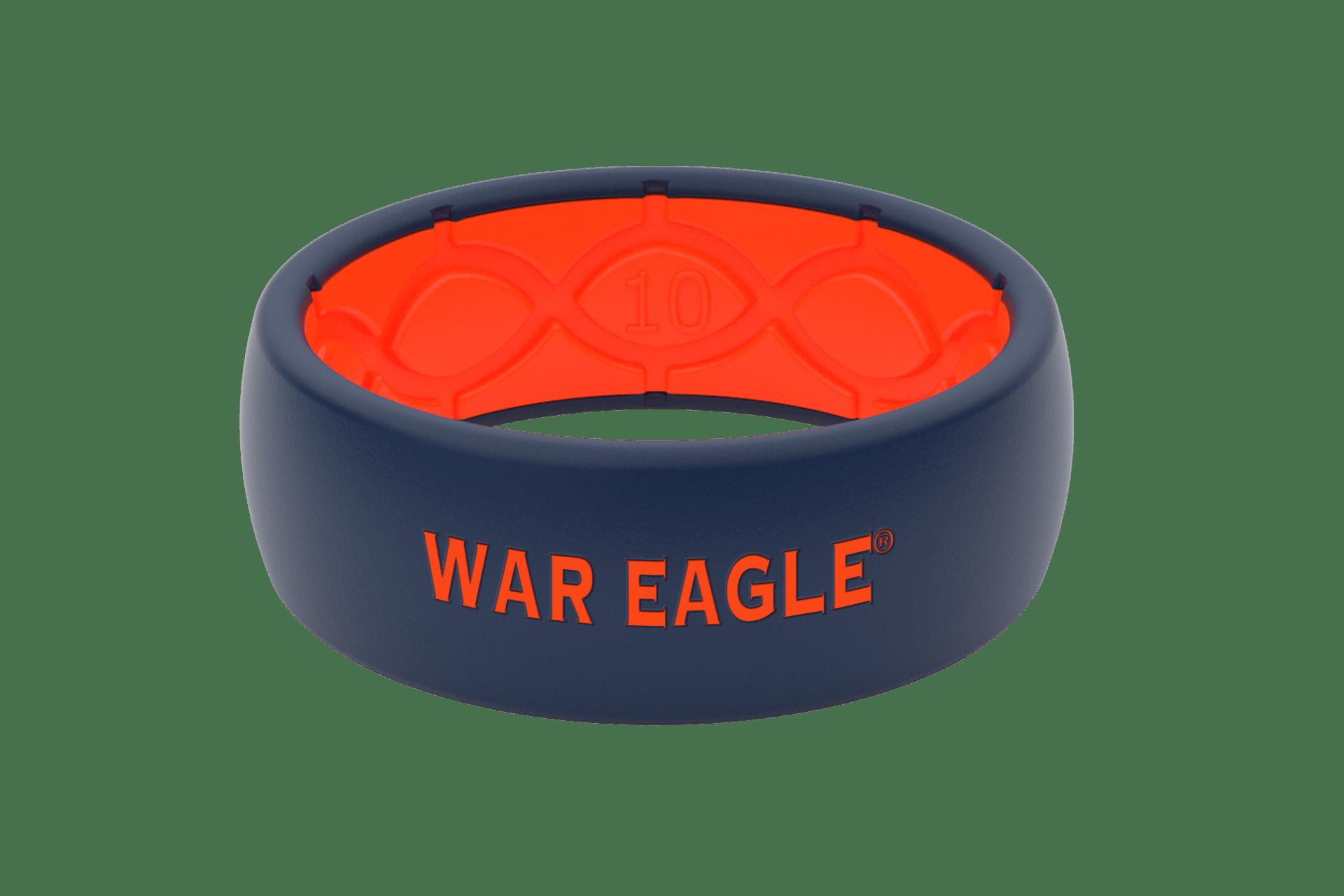 Original College Auburn War Eagle  viewed front on