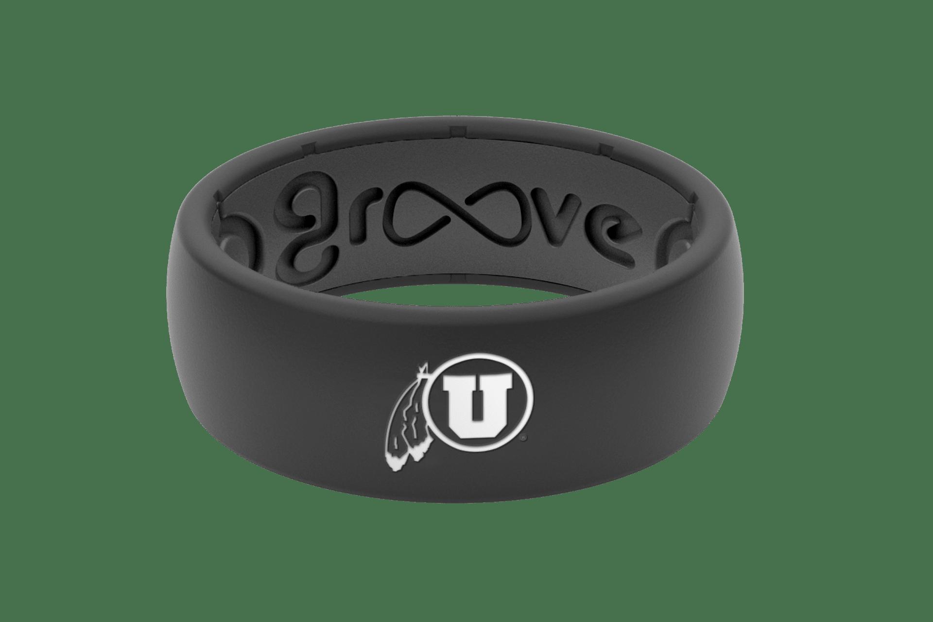 Original College Utah - Groove Life Silicone Wedding Rings