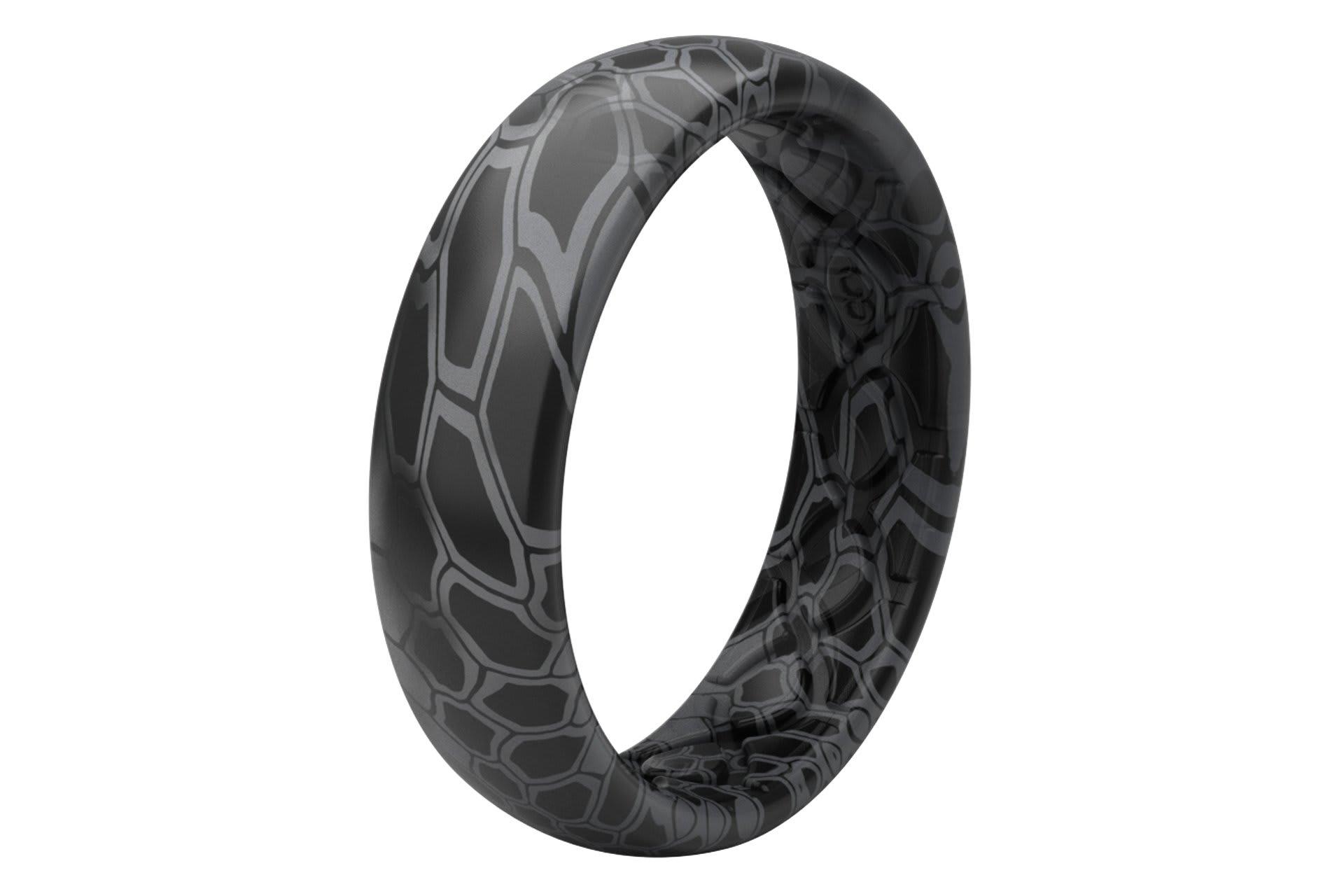 Thin Camo Kryptek Typhon - Groove Life Silicone Wedding Rings