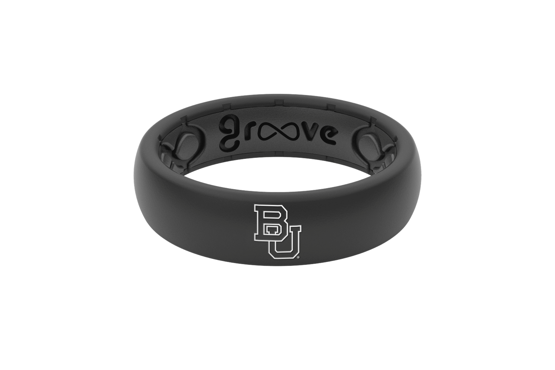Thin College Baylor - Groove Life Silicone Wedding Rings