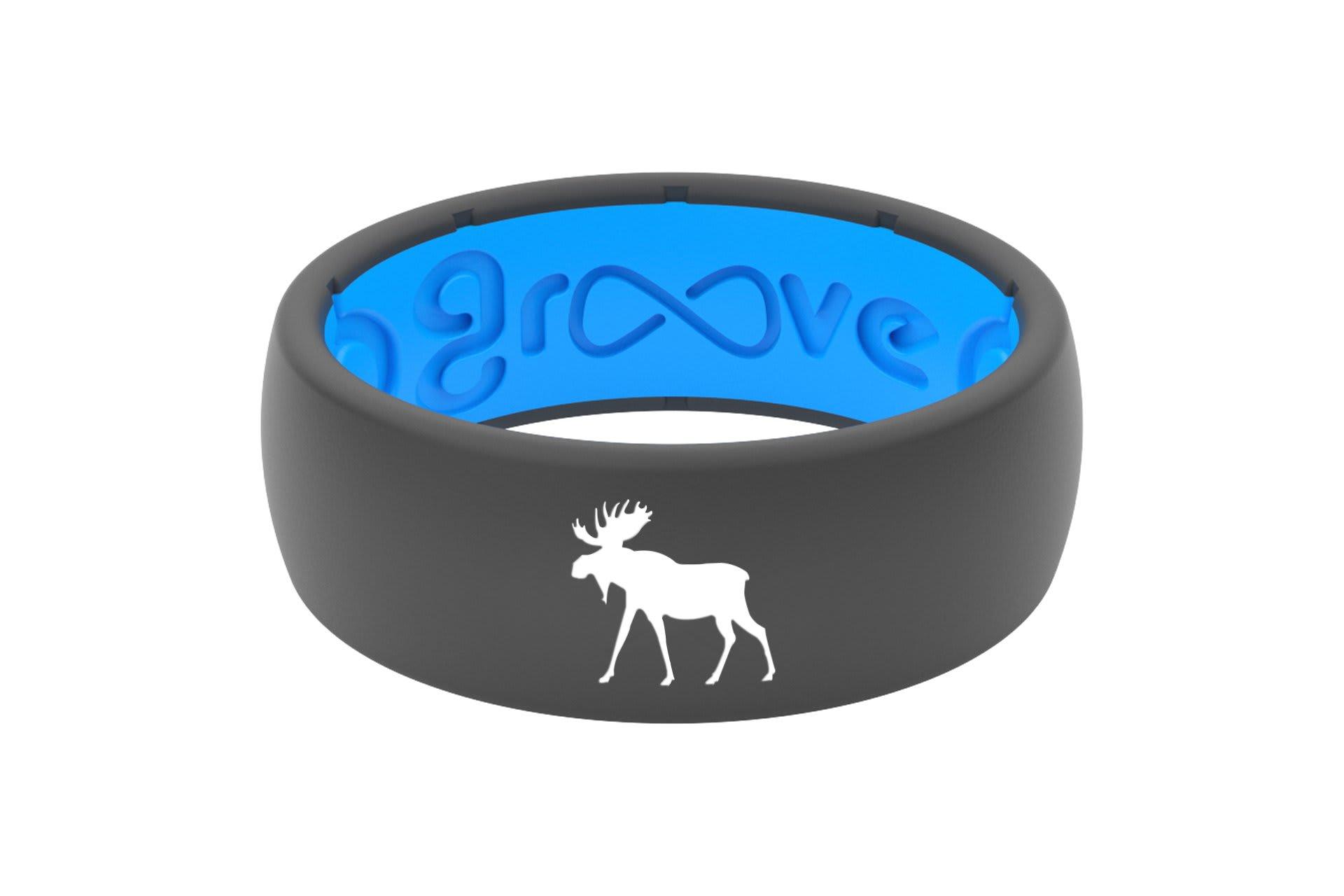 Original Custom Moose Deep Stone Grey/Blue - Groove Life