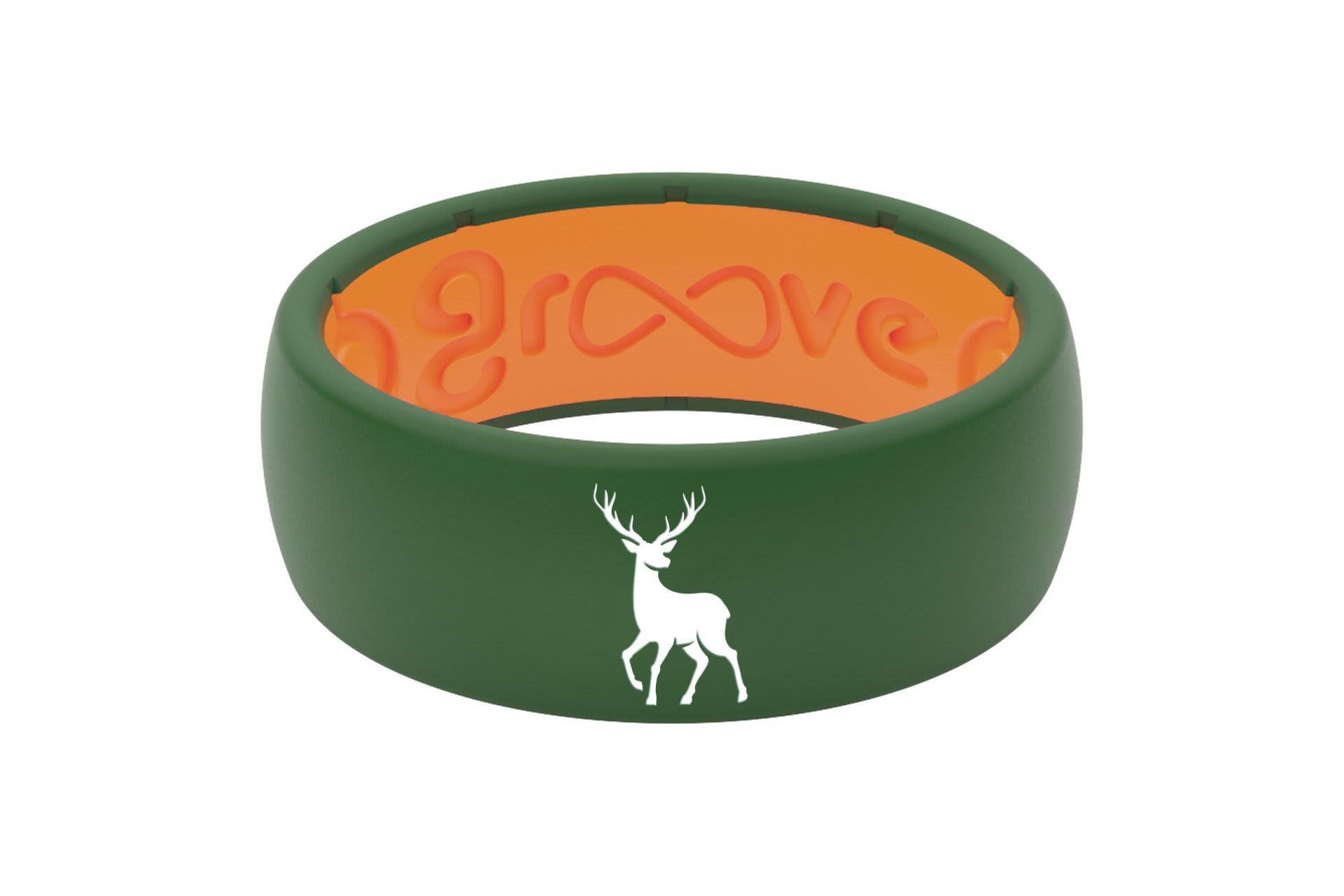 Original Custom Deer Moss Green/Orange - Groove Life