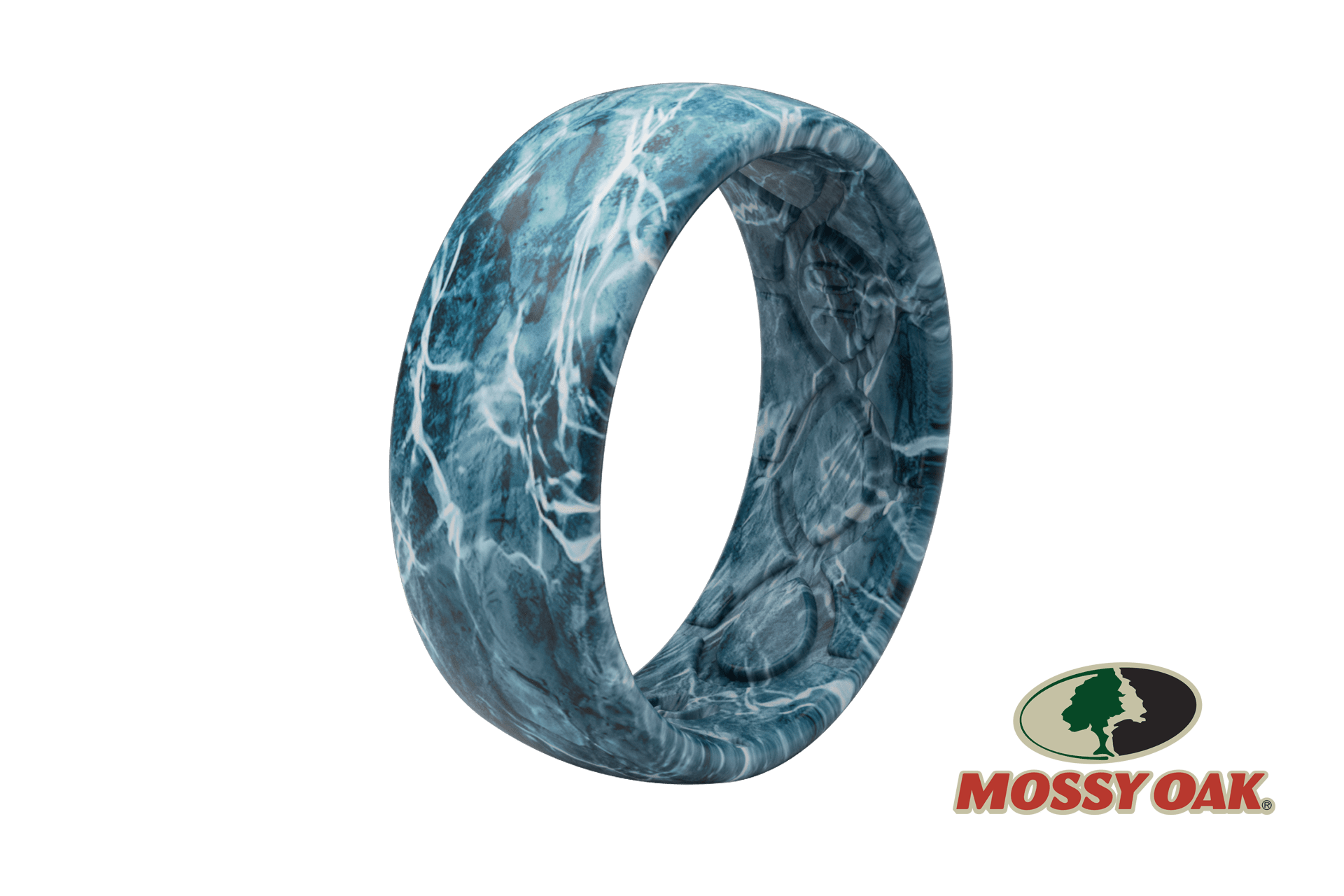 Original Camo Mossy Oak Elements Agua Spindrift Pattern -  viewed from side