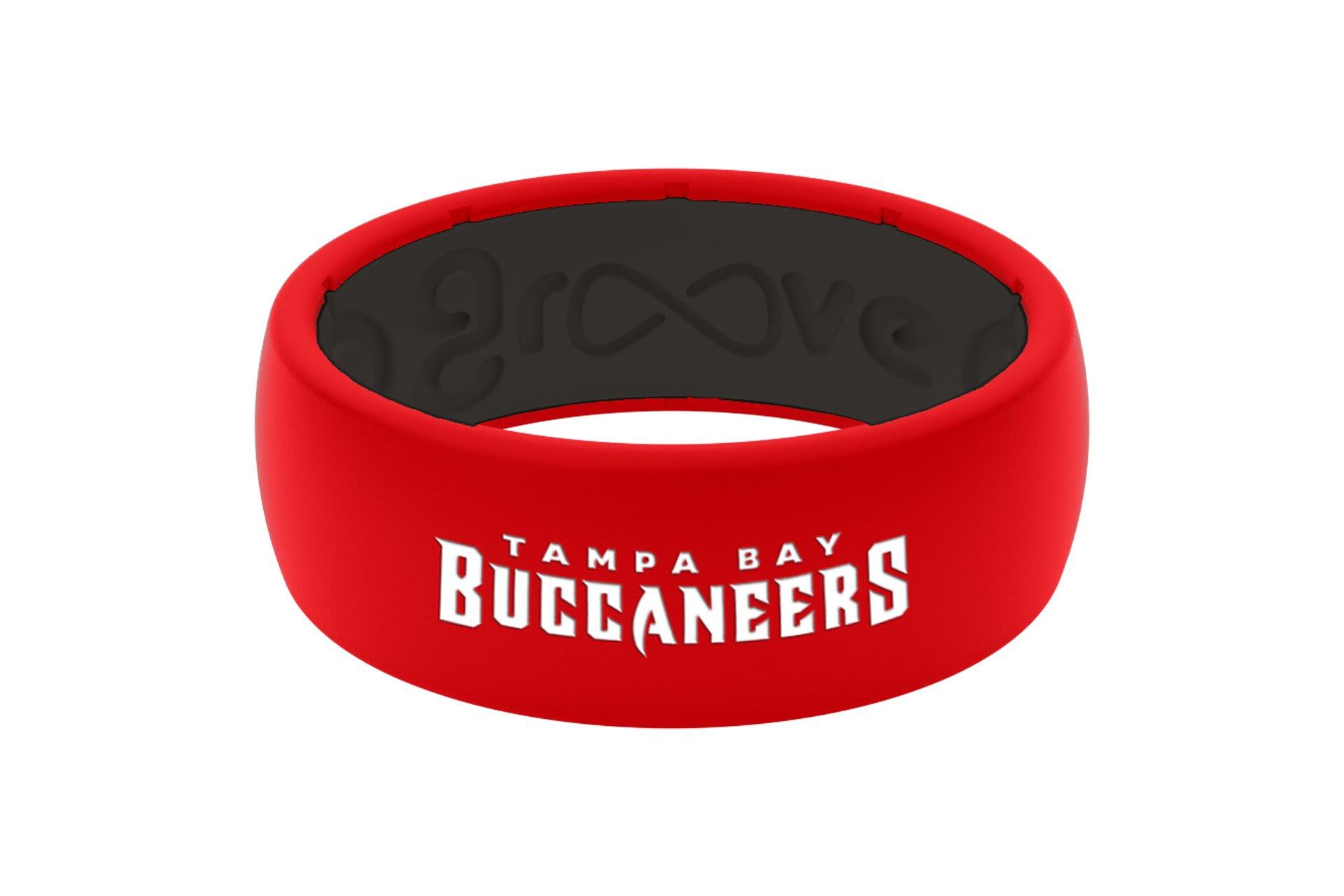 Original NFL Tampa Bay Buccaneers - Groove Life Silicone Wedding Rings
