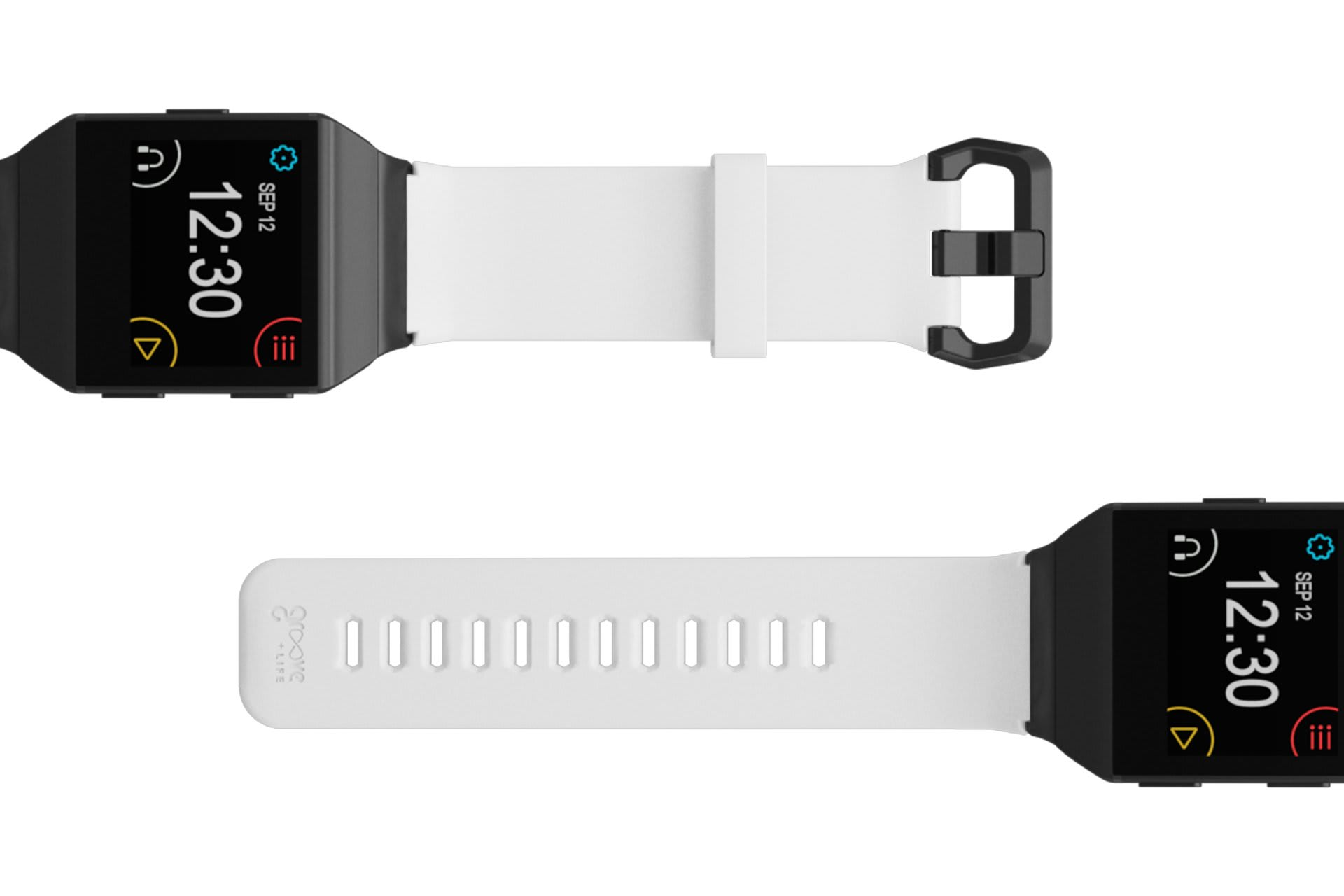 Fitbit Watch Band Ionic Solid White - Groove Life