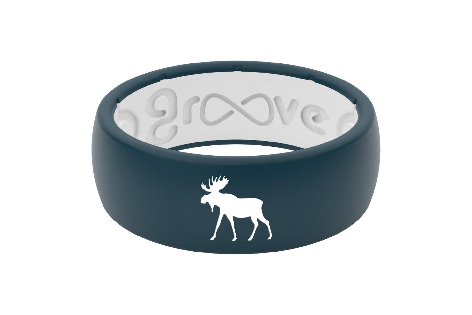 Original Custom Moose Anchor/White - Groove Life