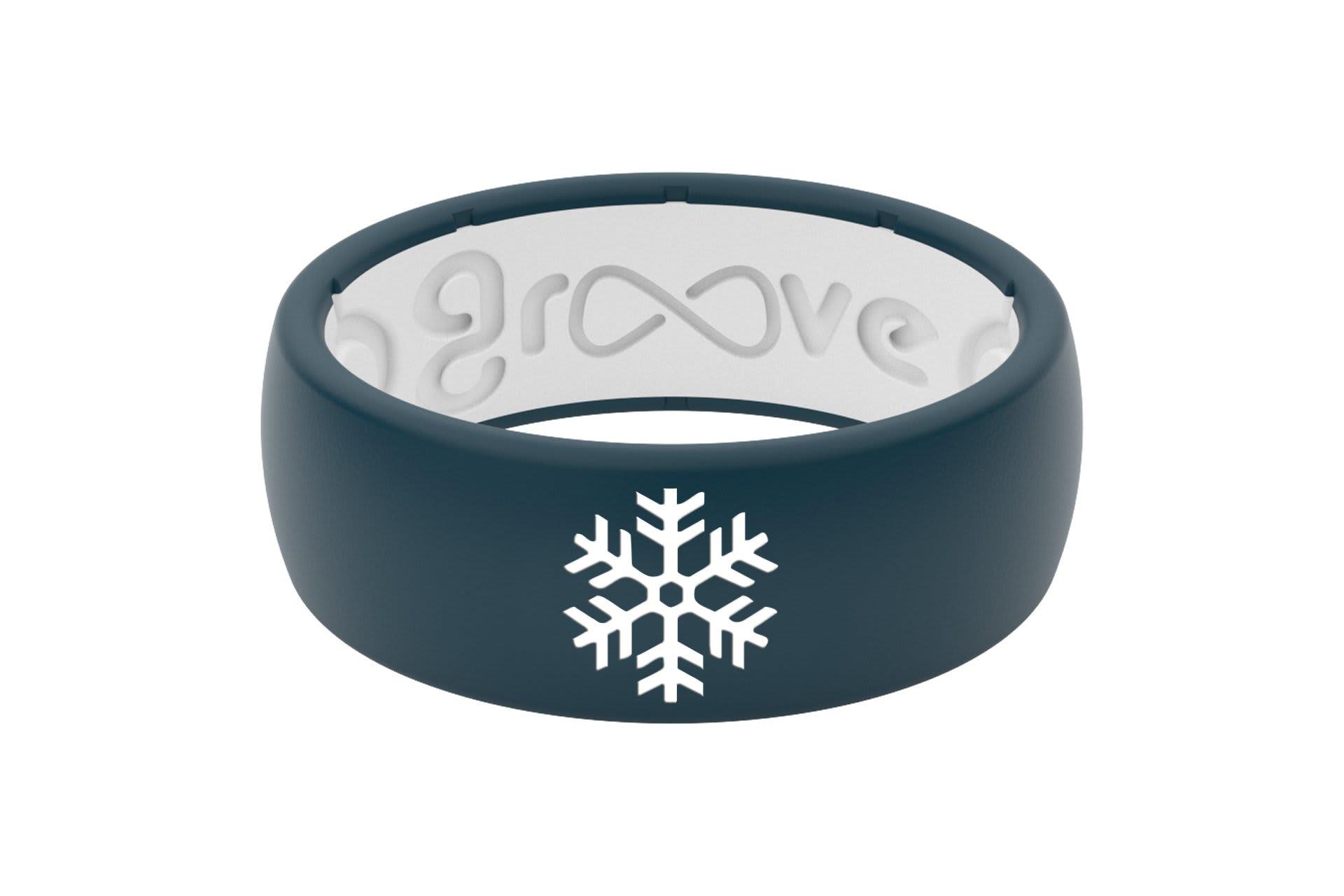 Original Custom Snowflake Anchor/White - Groove Life