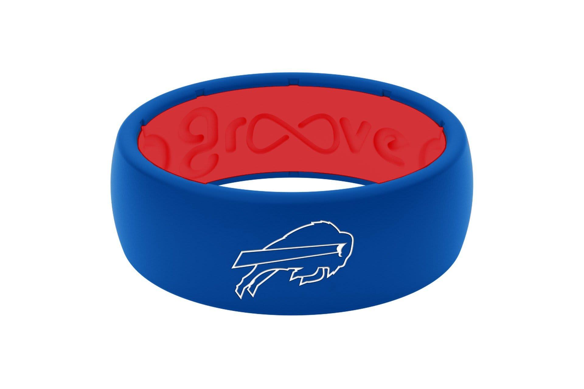 Original NFL Buffalo Bills - Groove Life Silicone Wedding Rings