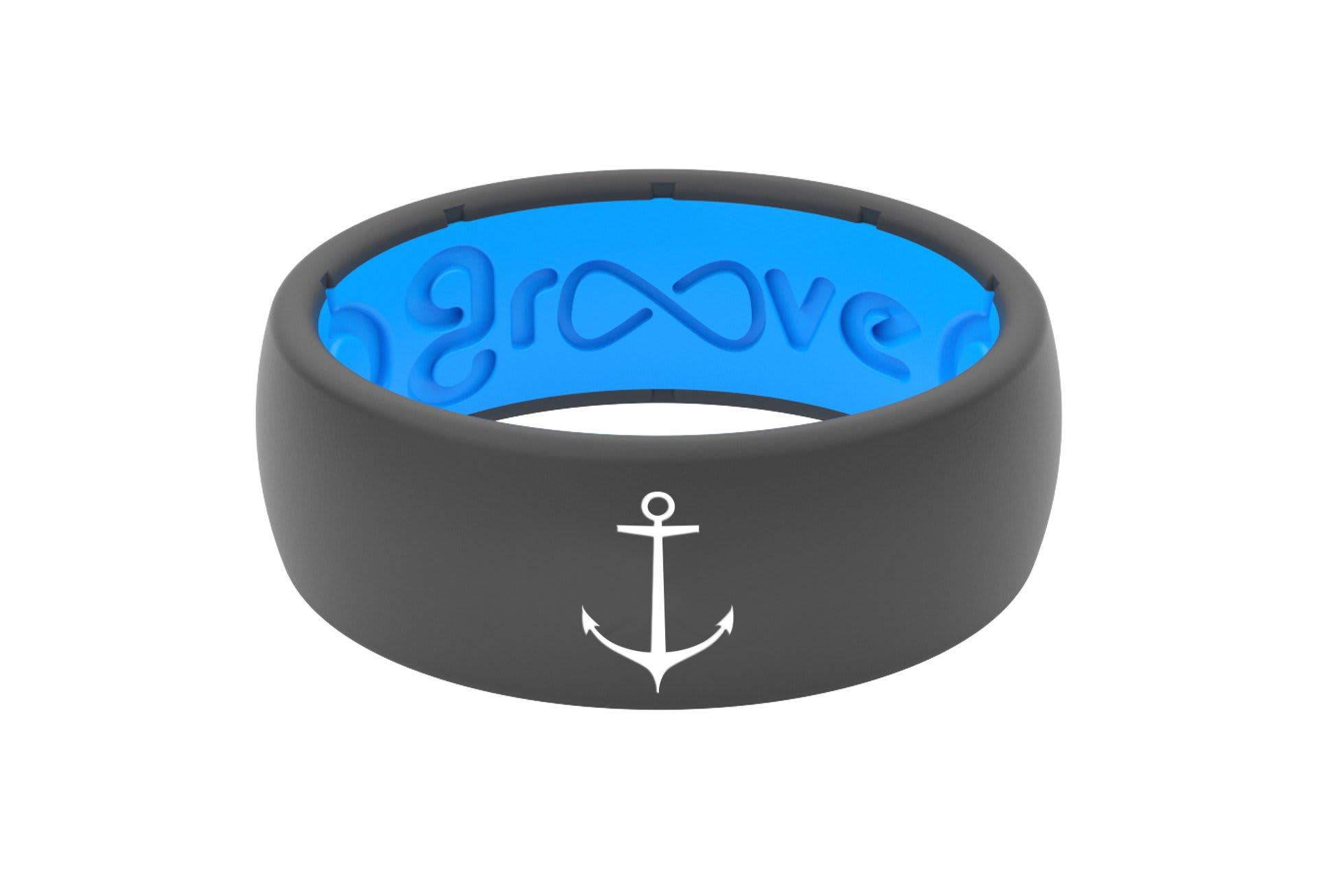 Original Custom Anchor Deep Stone Grey/Blue - Groove Life