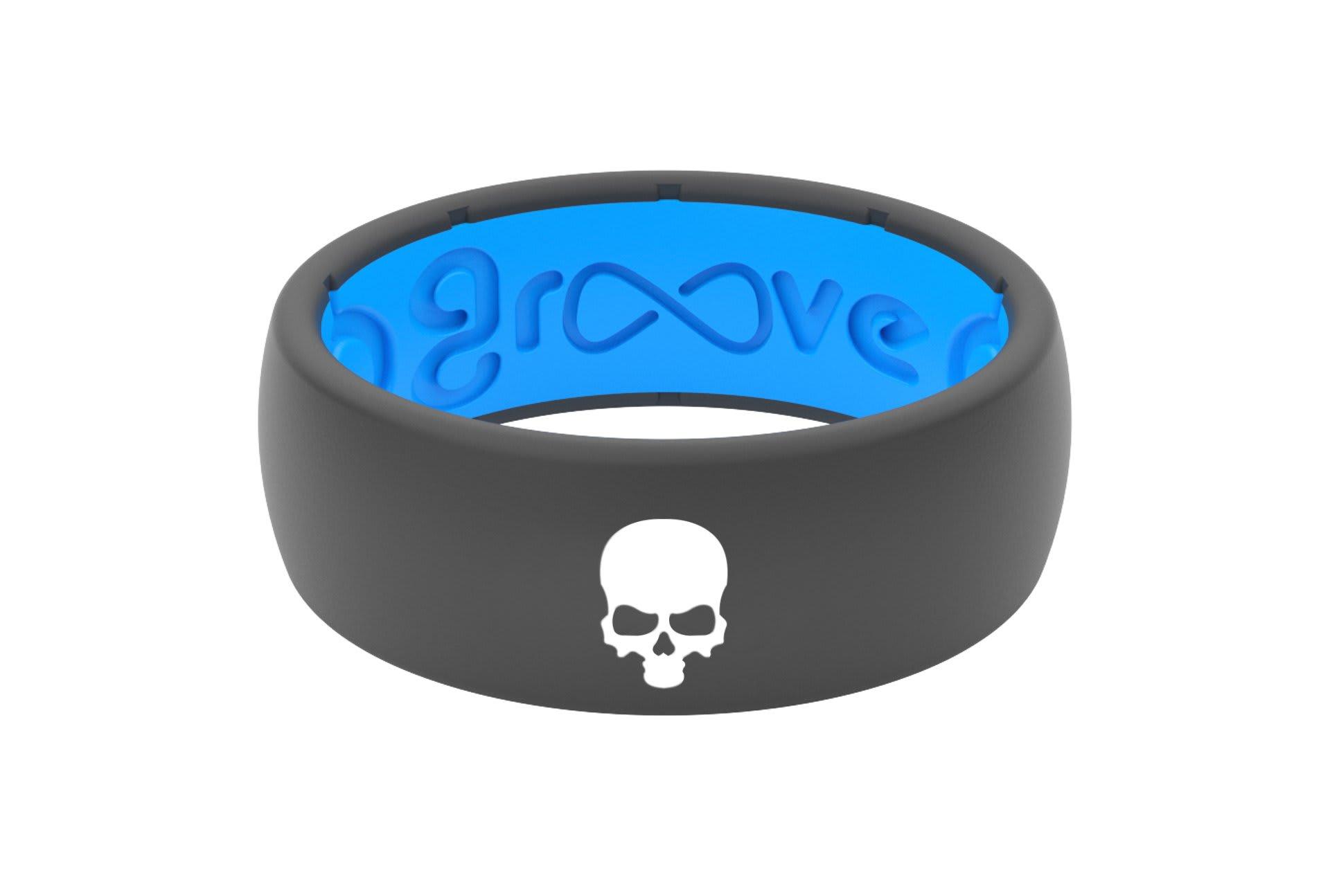 Original Custom Skull Deep Stone Grey/Blue - Groove Life