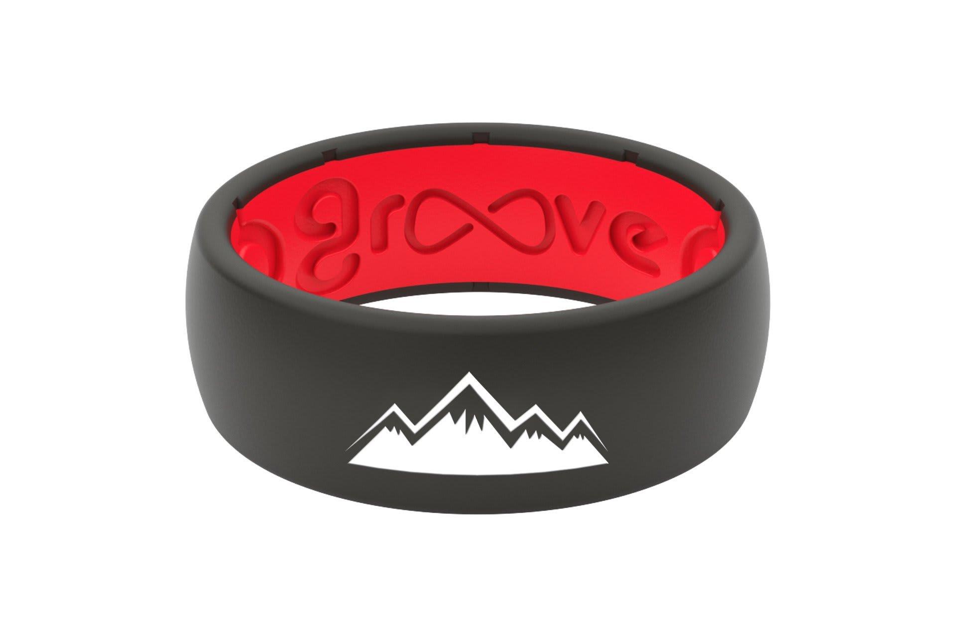 Original Custom Mountains Red/Black - Groove Life