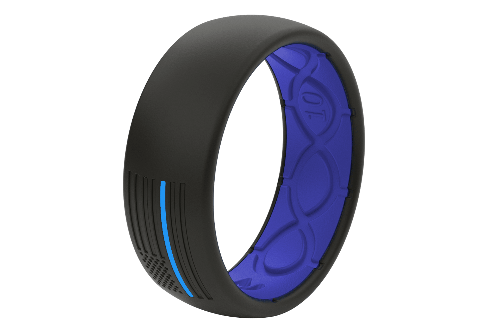 Original Protector Police Blue - Groove Life Silicone Wedding Rings