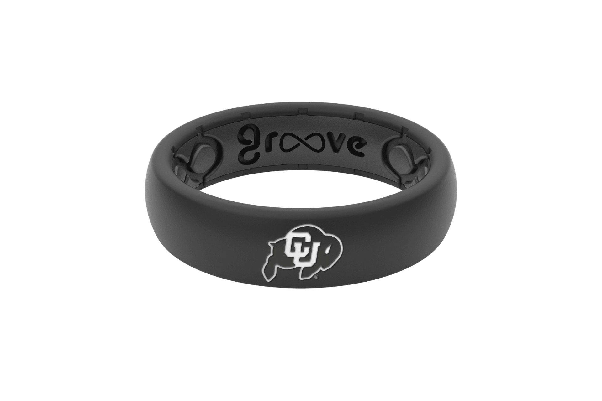 Thin College Colorado - Groove Life Silicone Wedding Rings