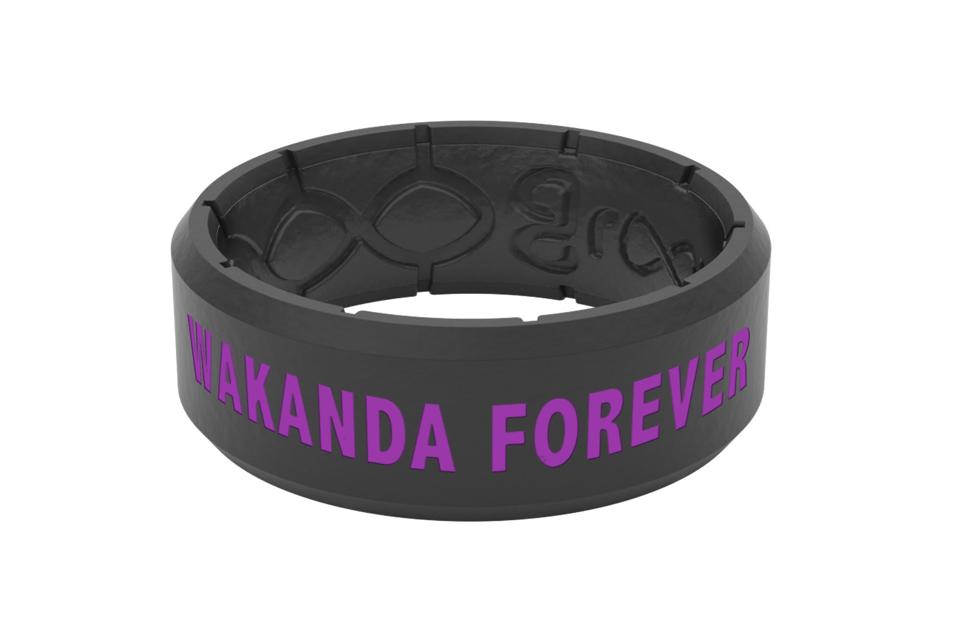 Black Panther Wakanda Forever Icon  viewed from side