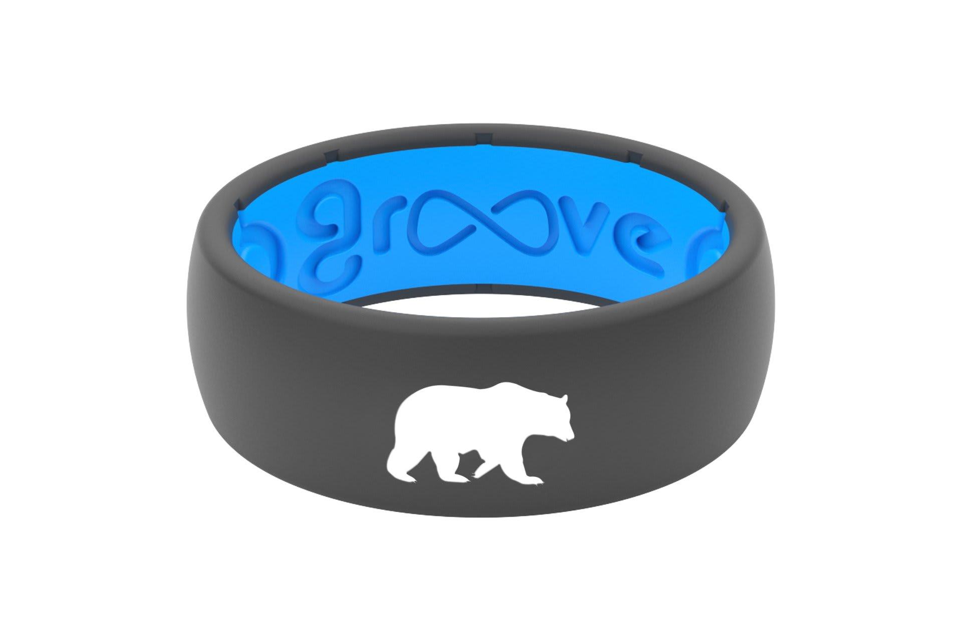 Original Custom Bear Deep Stone Grey/Blue - Groove Life