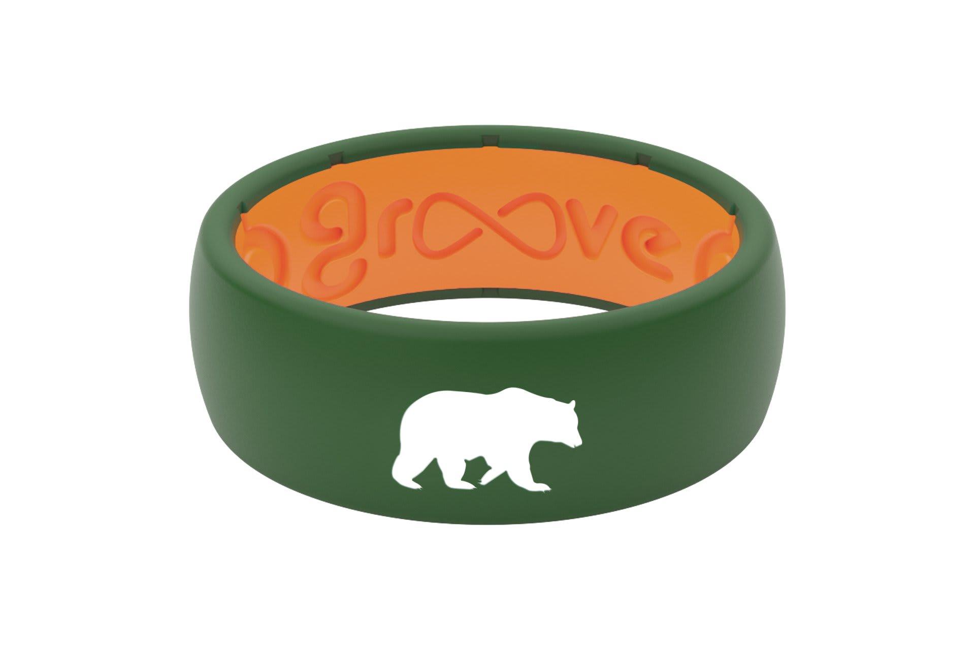 Original Custom Bear Moss Green/Orange - Groove Life