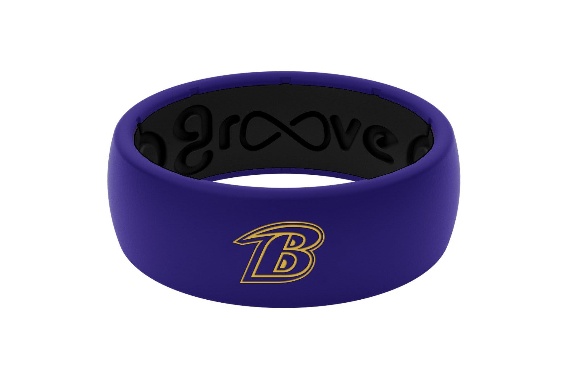 Original NFL Baltimore Ravens - Groove Life Silicone Wedding Rings