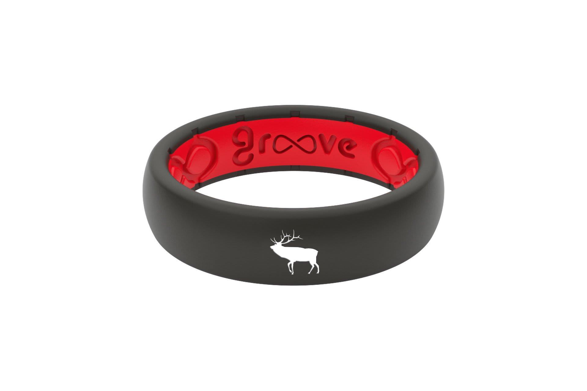 Thin Custom Elk Black/Red - Groove Life