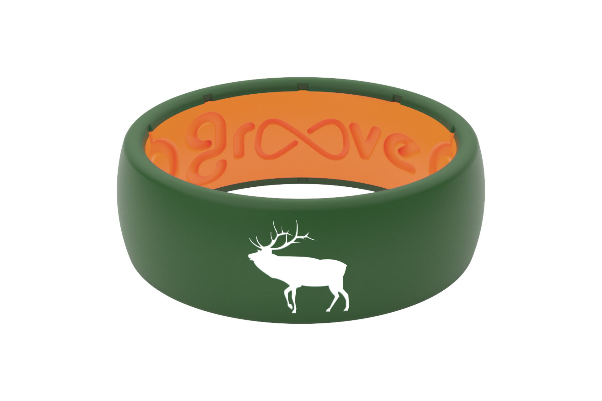 Original Custom Elk Moss Green/Orange - Groove Life