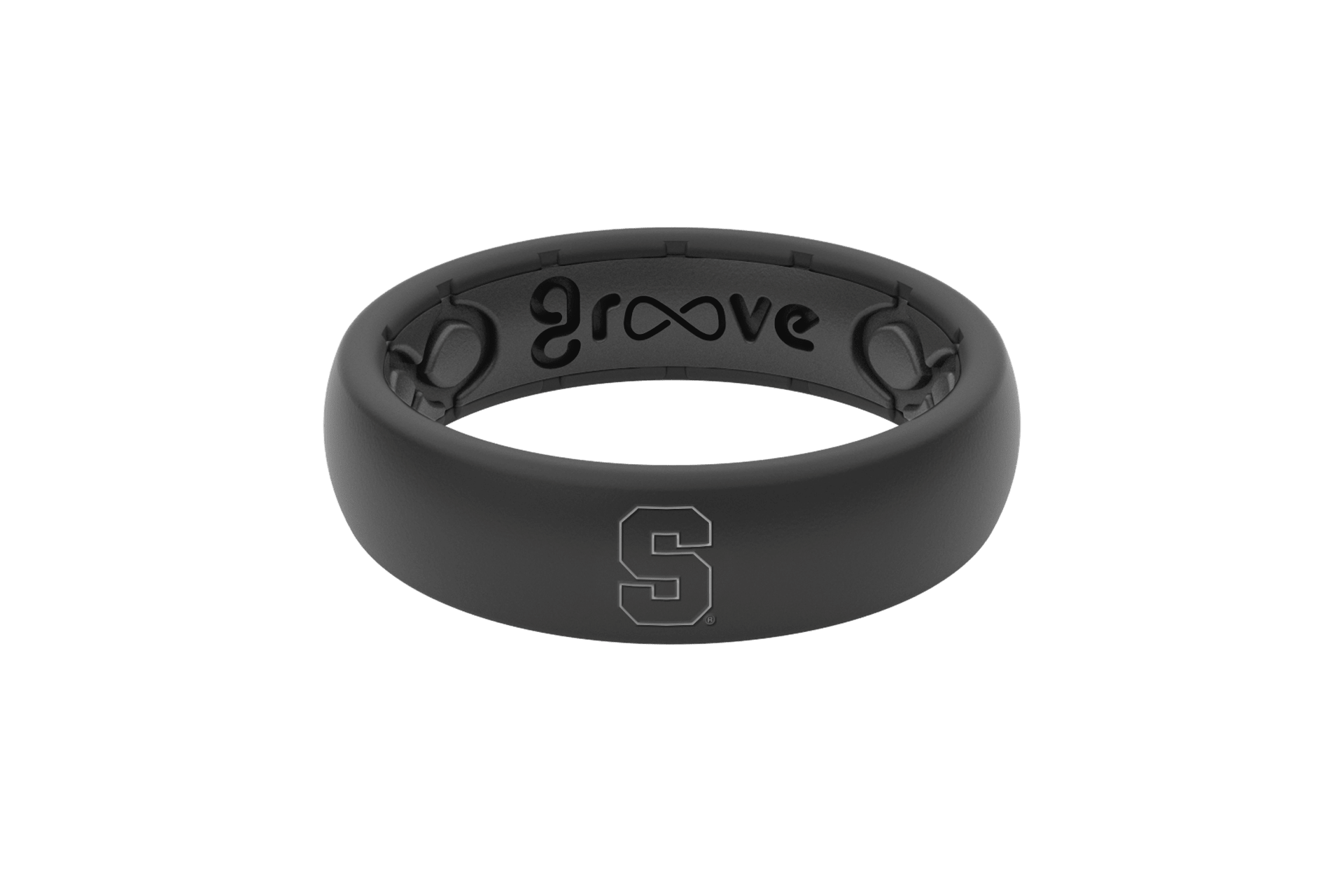 Thin College Syracuse - Groove Life Silicone Wedding Rings