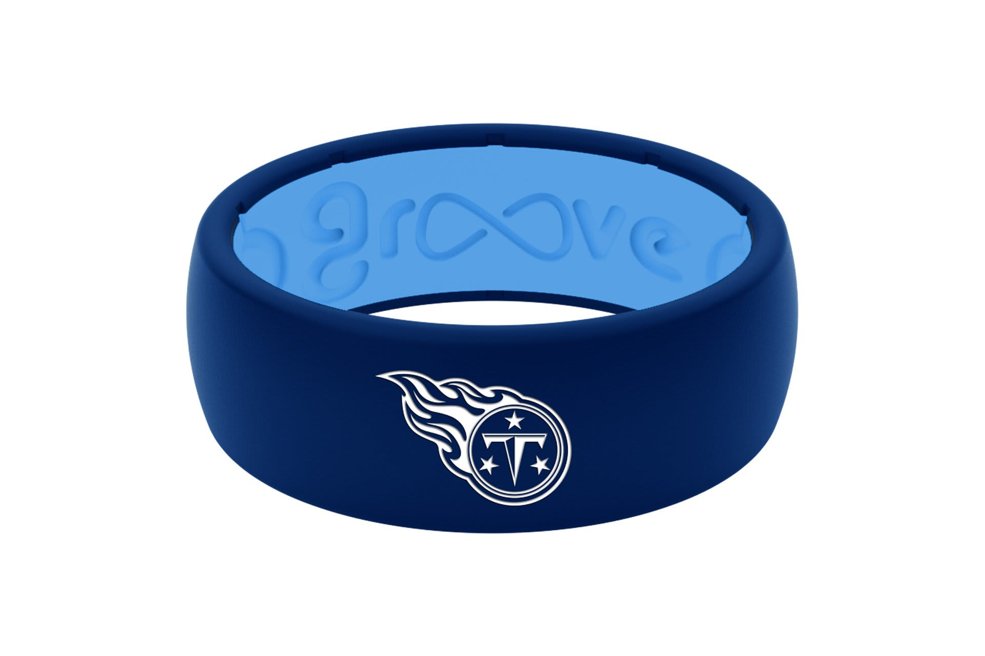 Original NFL Tennessee Titans - Groove Life Silicone Wedding Rings