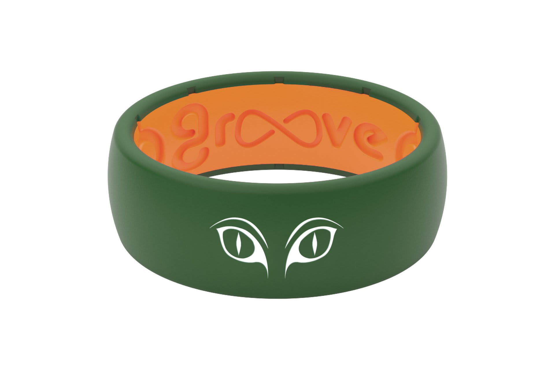 Original Custom Cat Eyes Moss Green/Orange - Groove Life