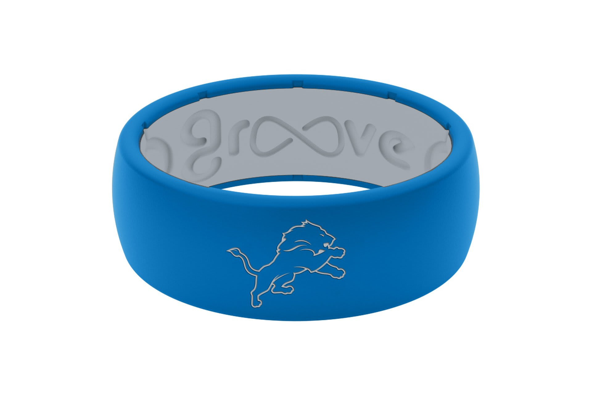 Original NFL Detroit Lions - Groove Life Silicone Wedding Rings