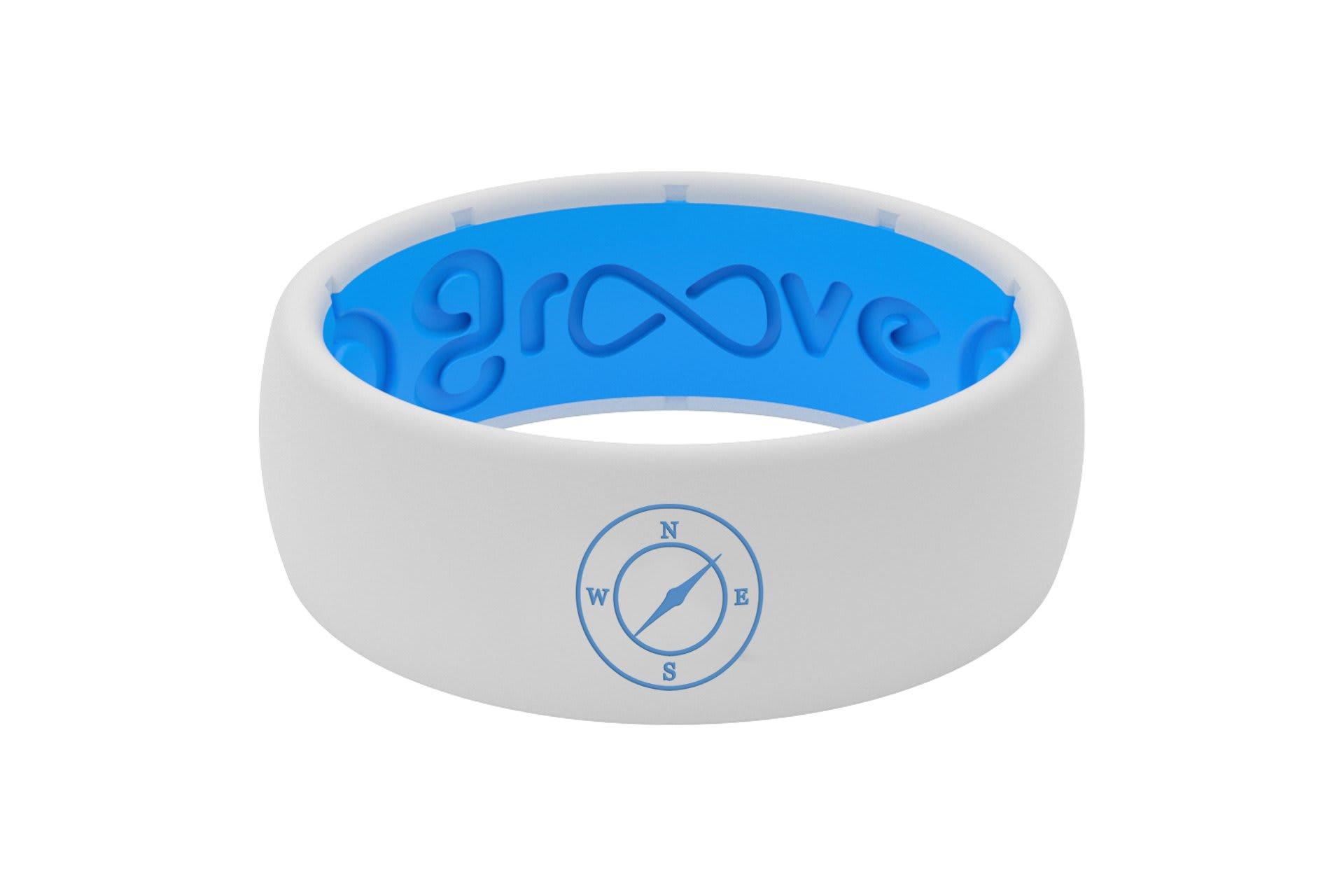 Original Custom Compass White/Blue - Groove Life