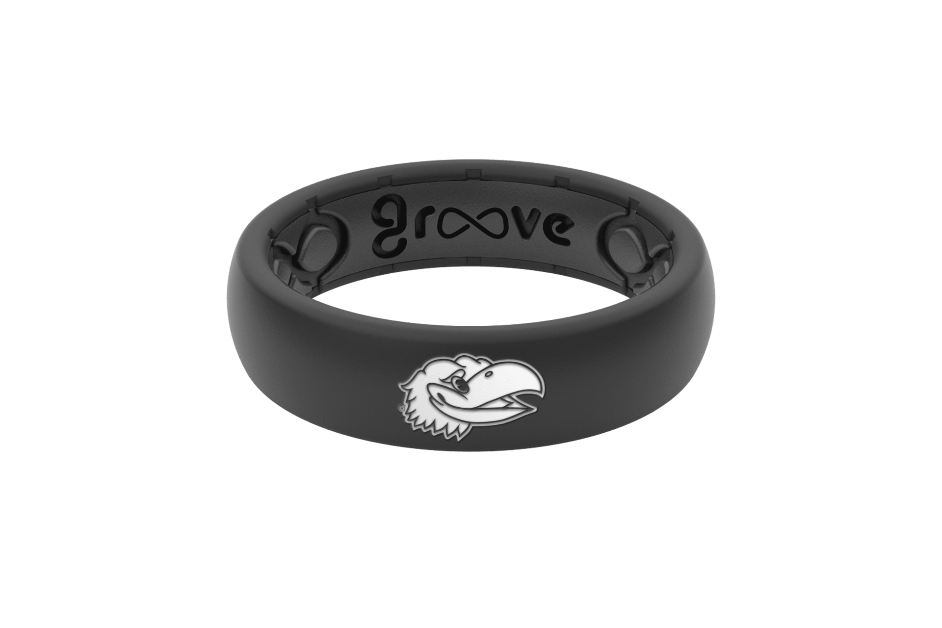 Thin College Kansas - Groove Life Silicone Wedding Rings