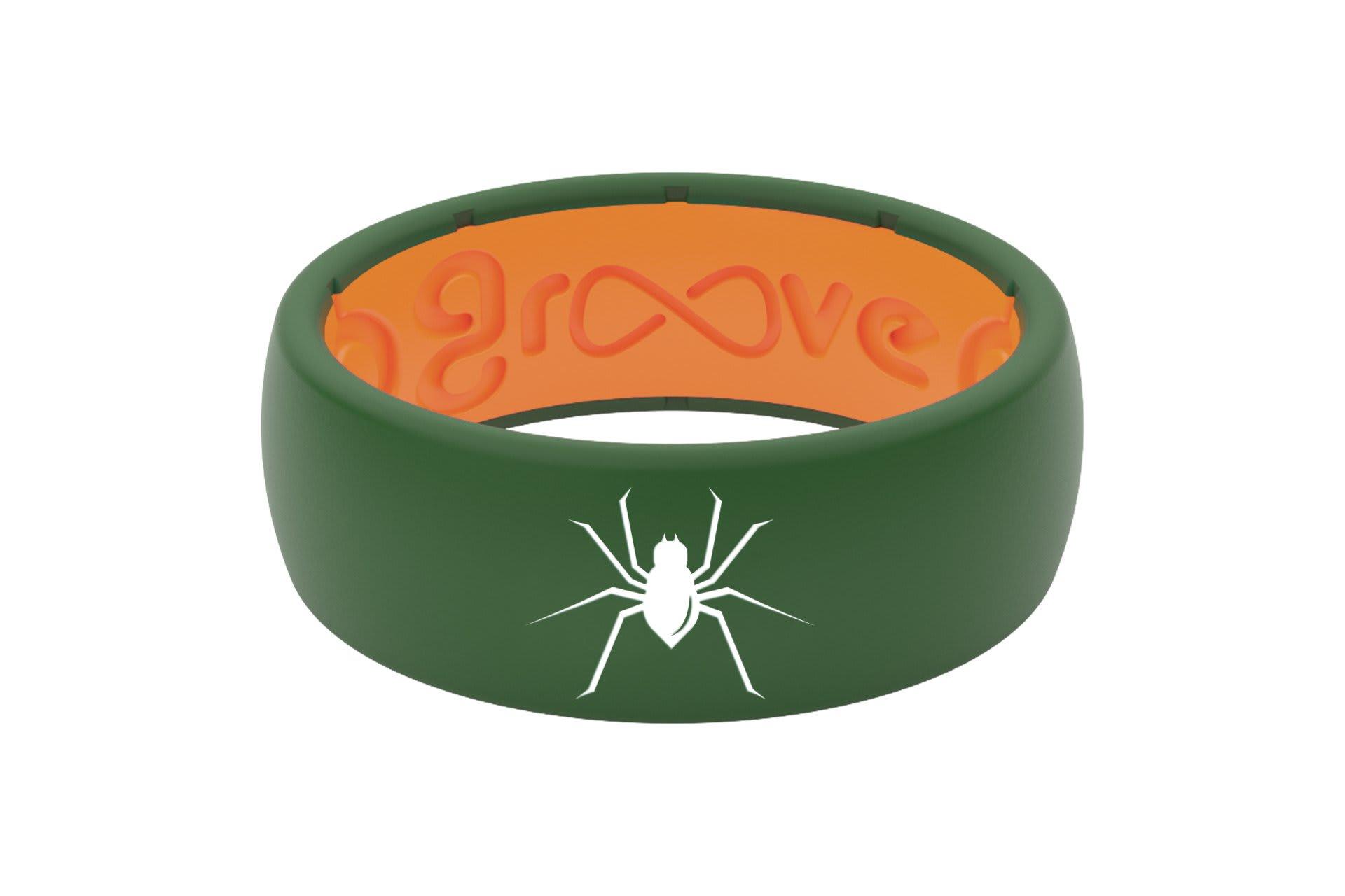 Original Custom Spider Moss Green/Orange - Groove Life