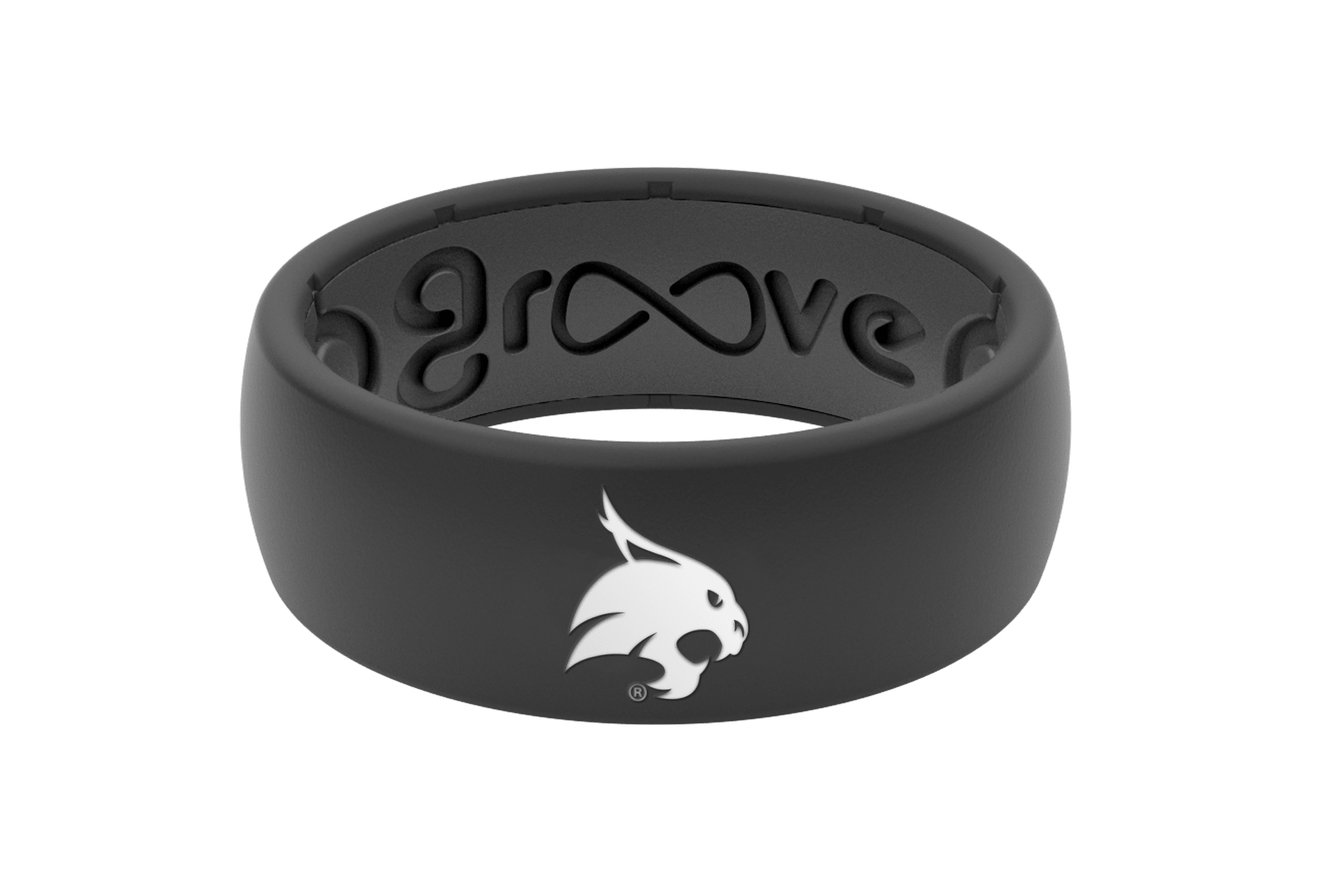 Original College Texas State - Groove Life Silicone Wedding Rings