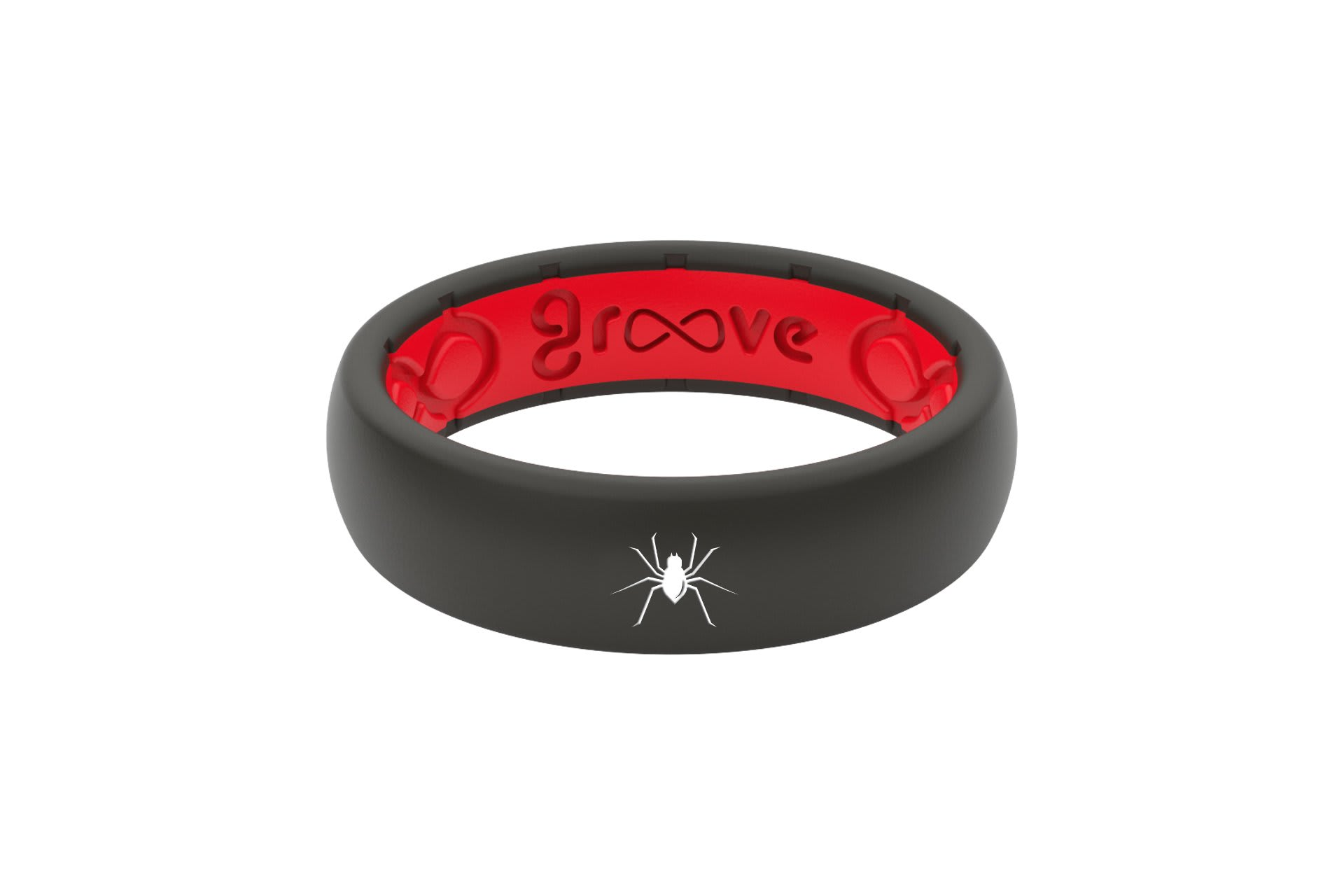 Thin Custom Spider Black/Red - Groove Life